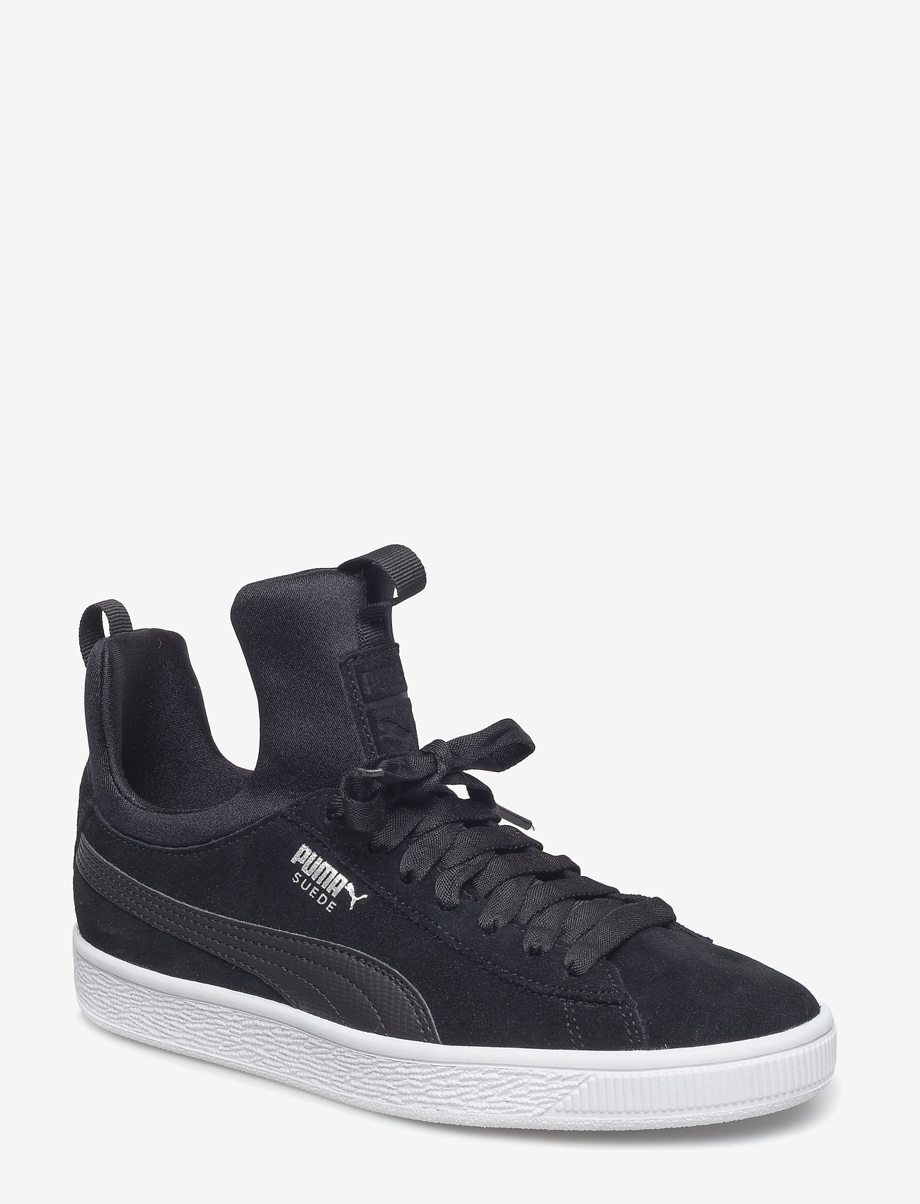 PUMA - Suede Fierce Wn's - matalavartiset tennarit - puma black-puma black