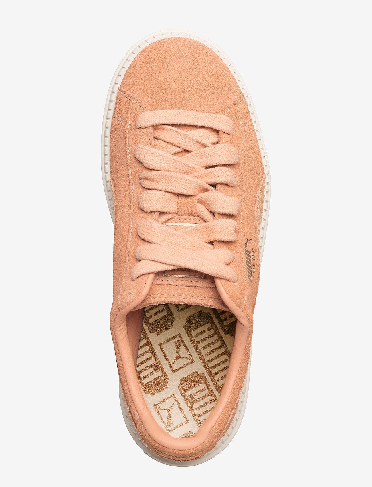 Suede Platform Trace Animal (Dusty Coral-metallic Bronze) - PUMA