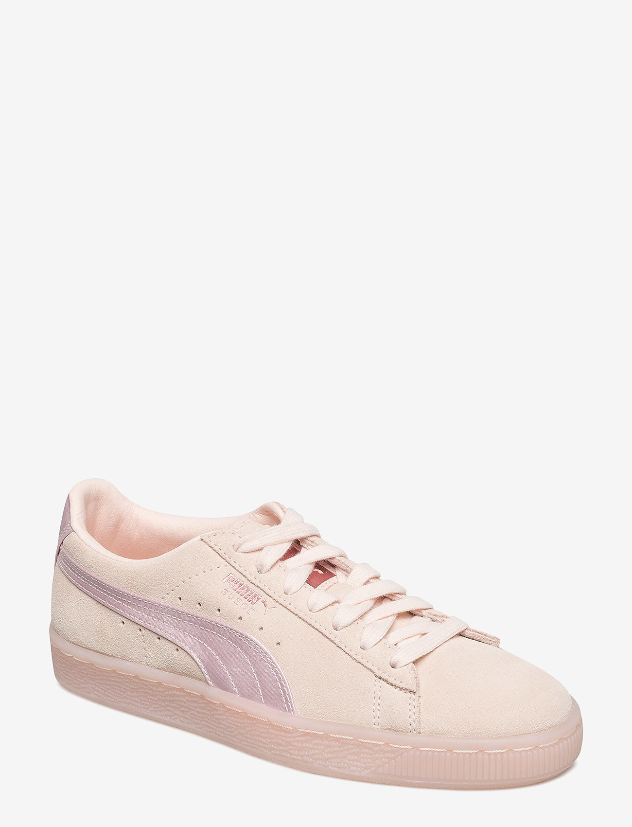 puma suede satin rose