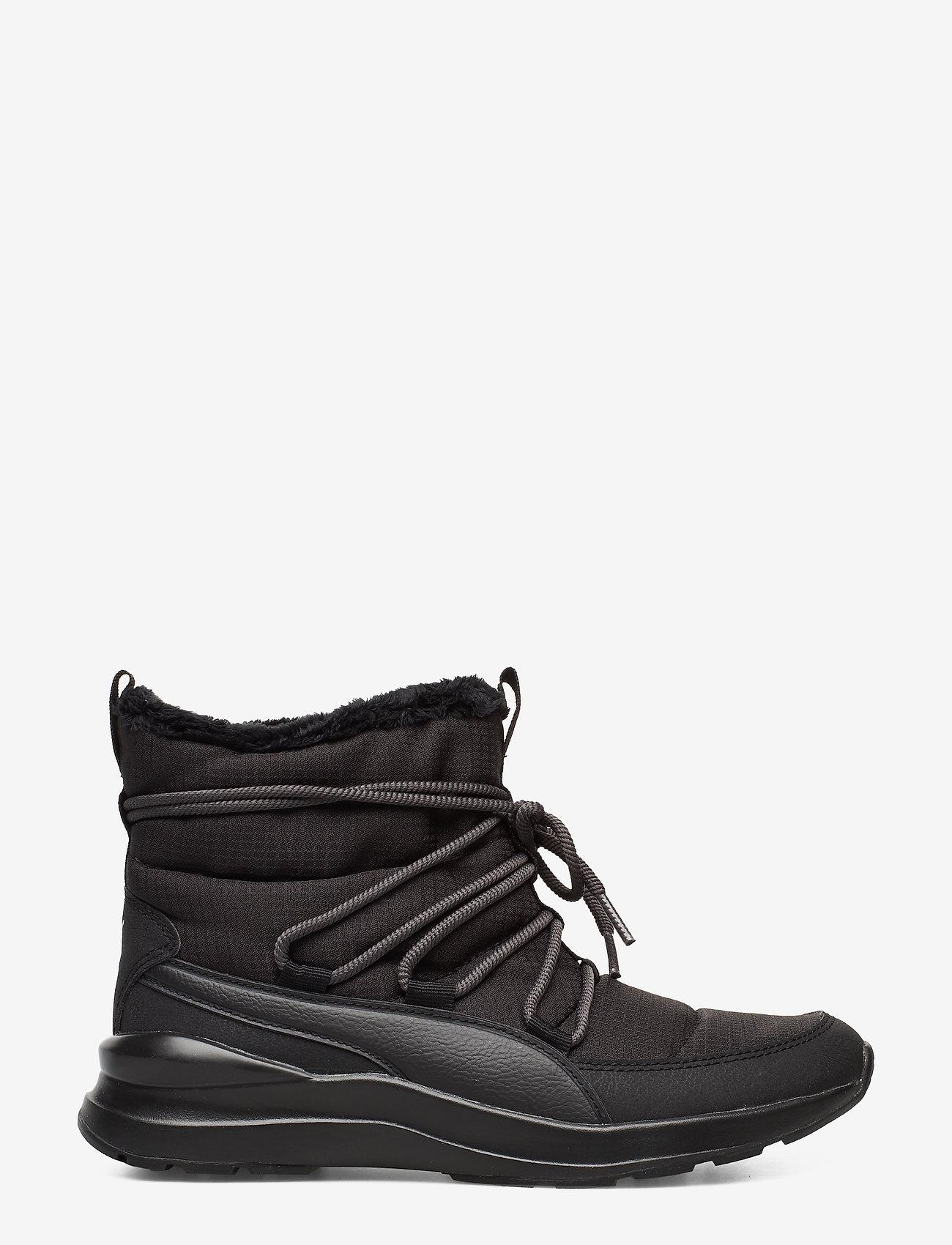 PUMA - Adela Winter Boot - flat ankle boots - puma black-bridal rose - 1