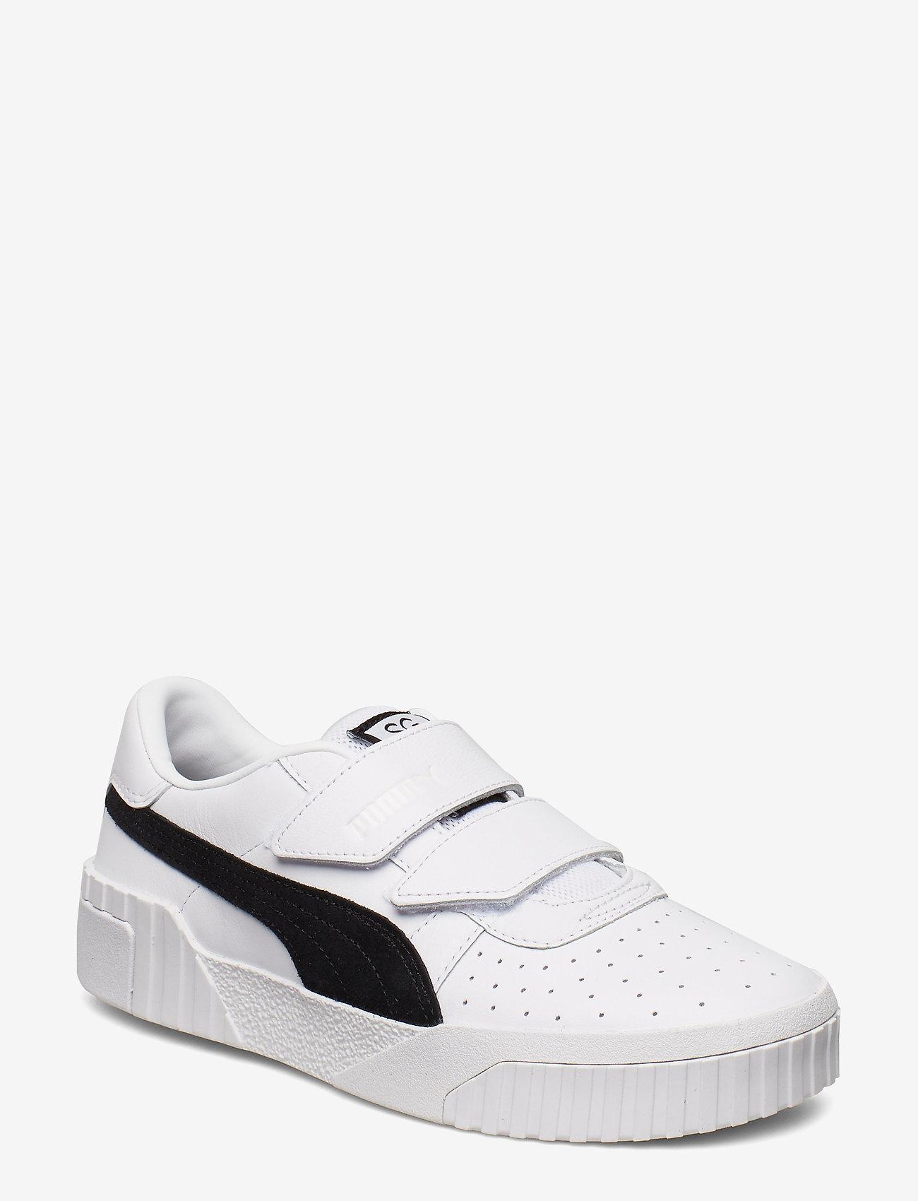 PUMA - Cali Velcro B&W x SG - baskets basses - puma white-puma black