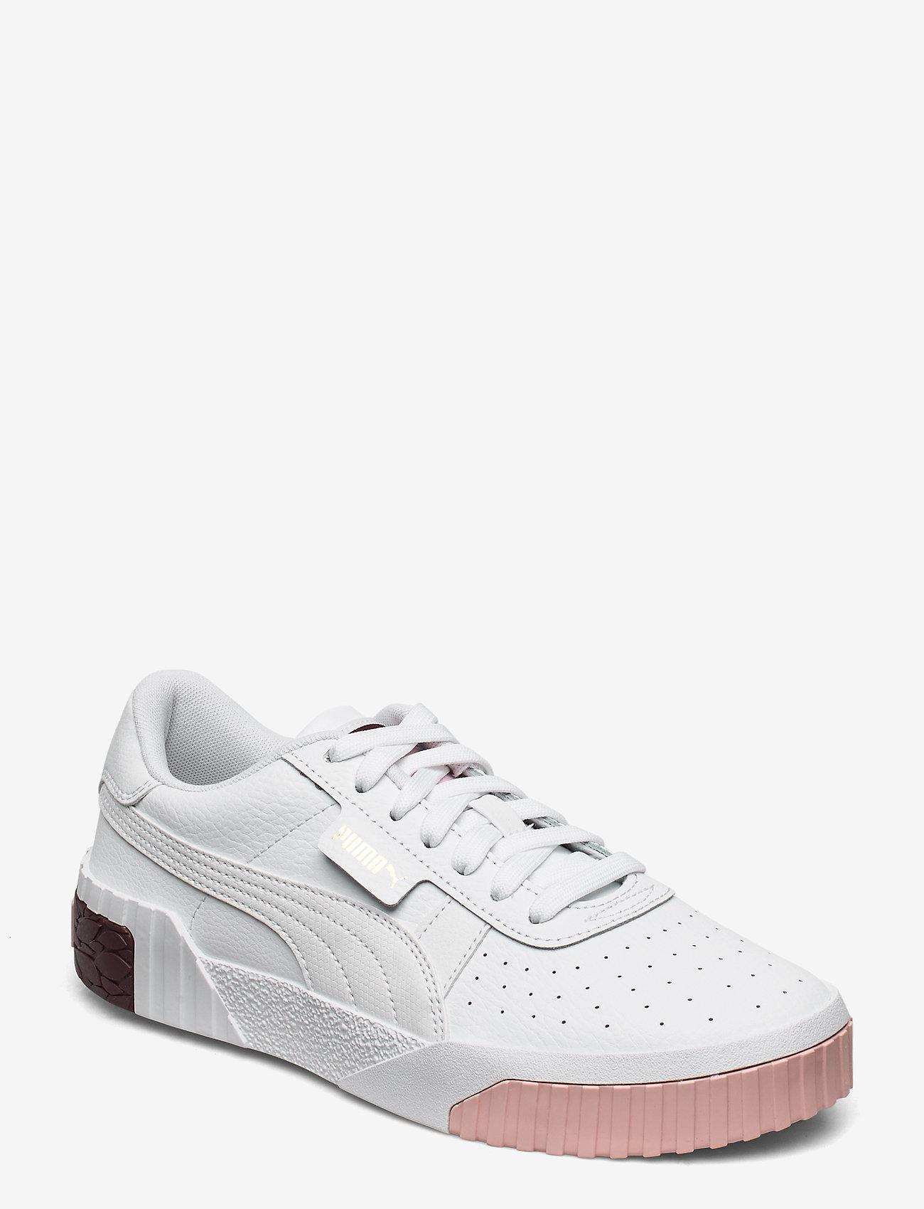 Cali Jr (Puma White-burgundy) (42