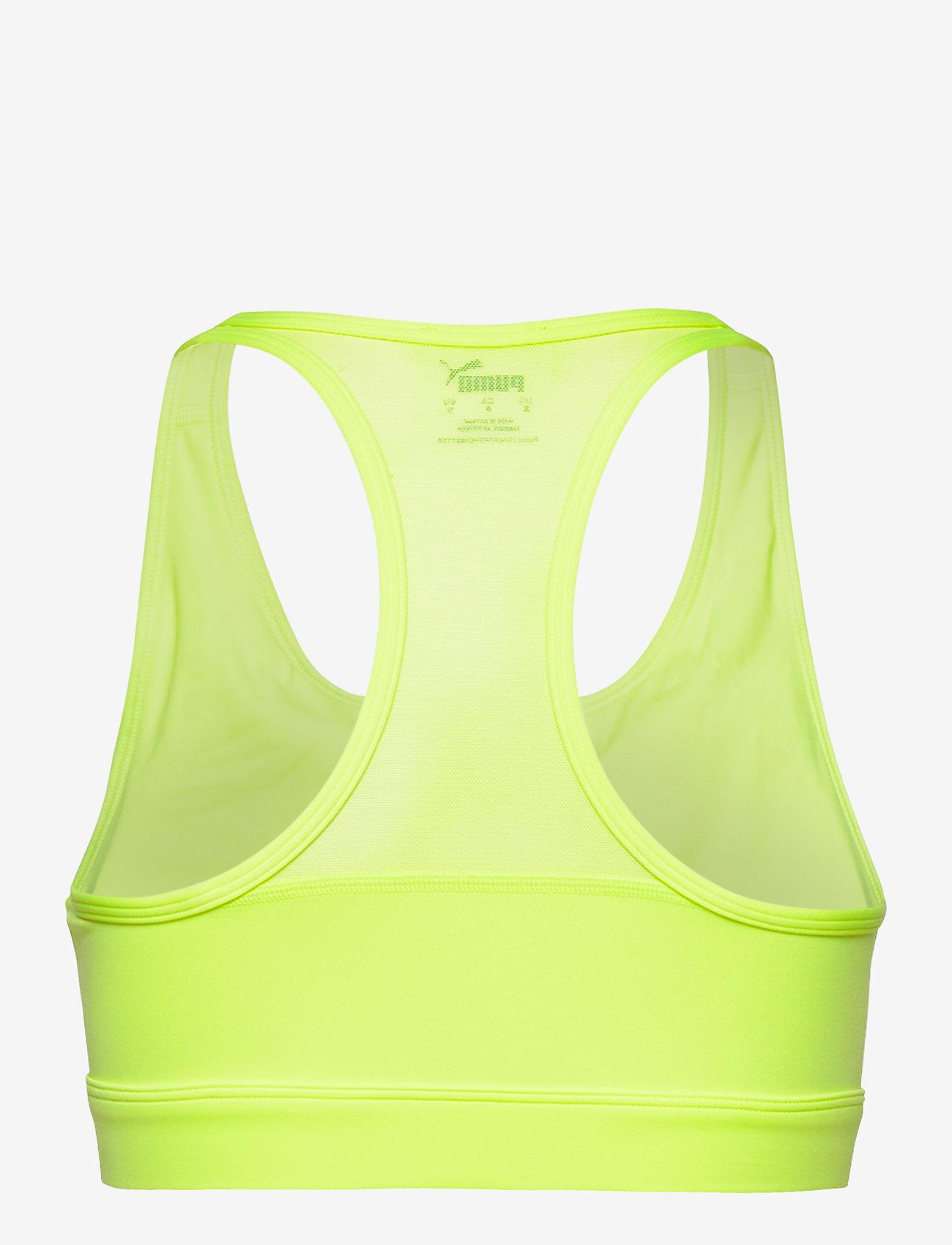 PUMA - High Impact Front Zip Bra - sort bras:high - fizzy yellow - 1