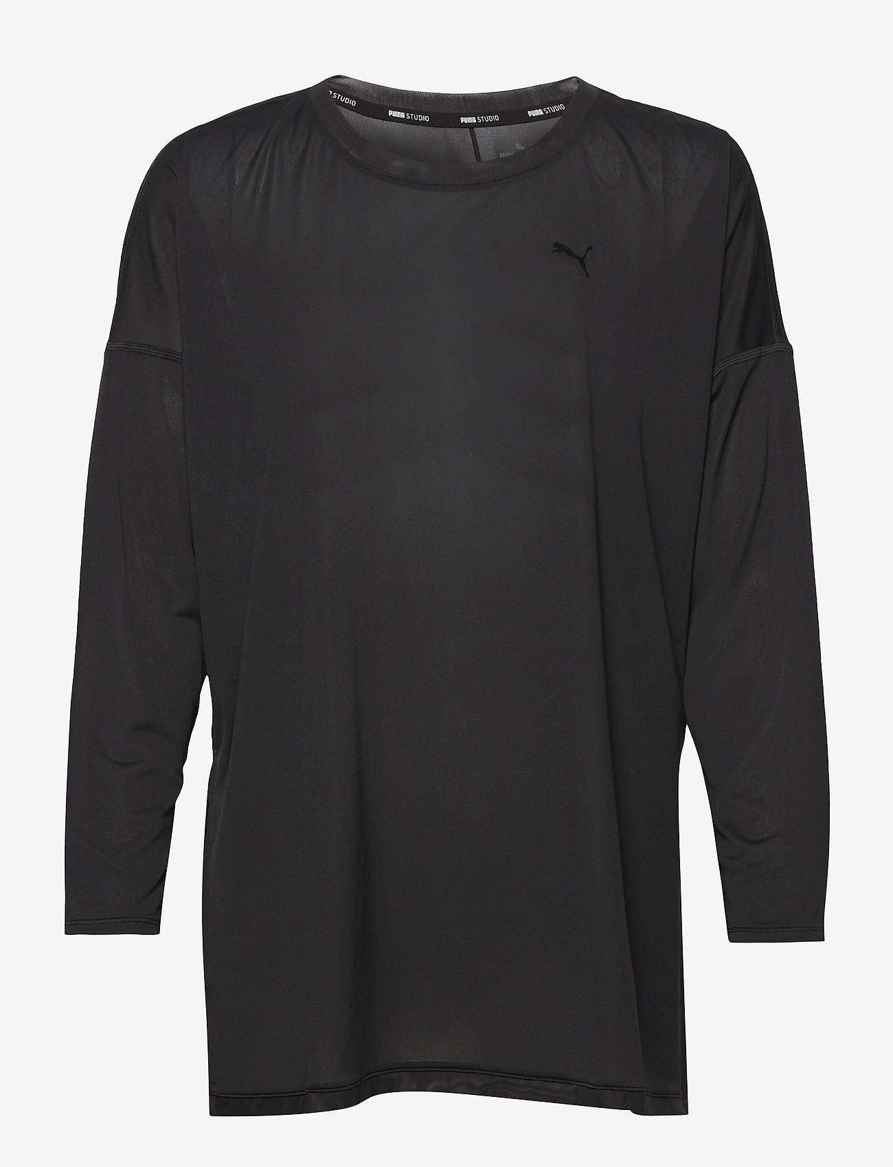 PUMA - STUDIO GRAPHENE LONG SLEEVE TOP - topjes met lange mouwen - puma black - 1