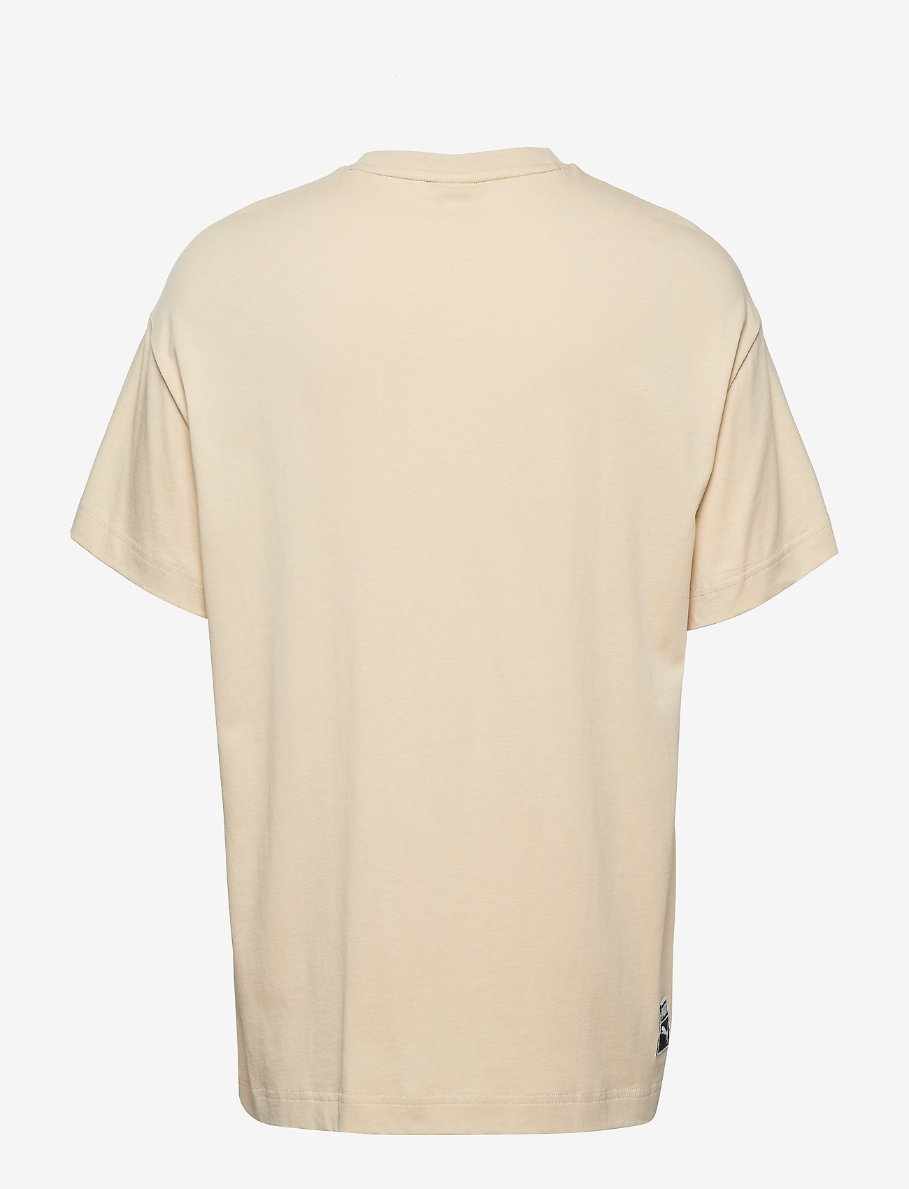 PUMA - Archive Embossed Print Tee - t-shirts - pebble