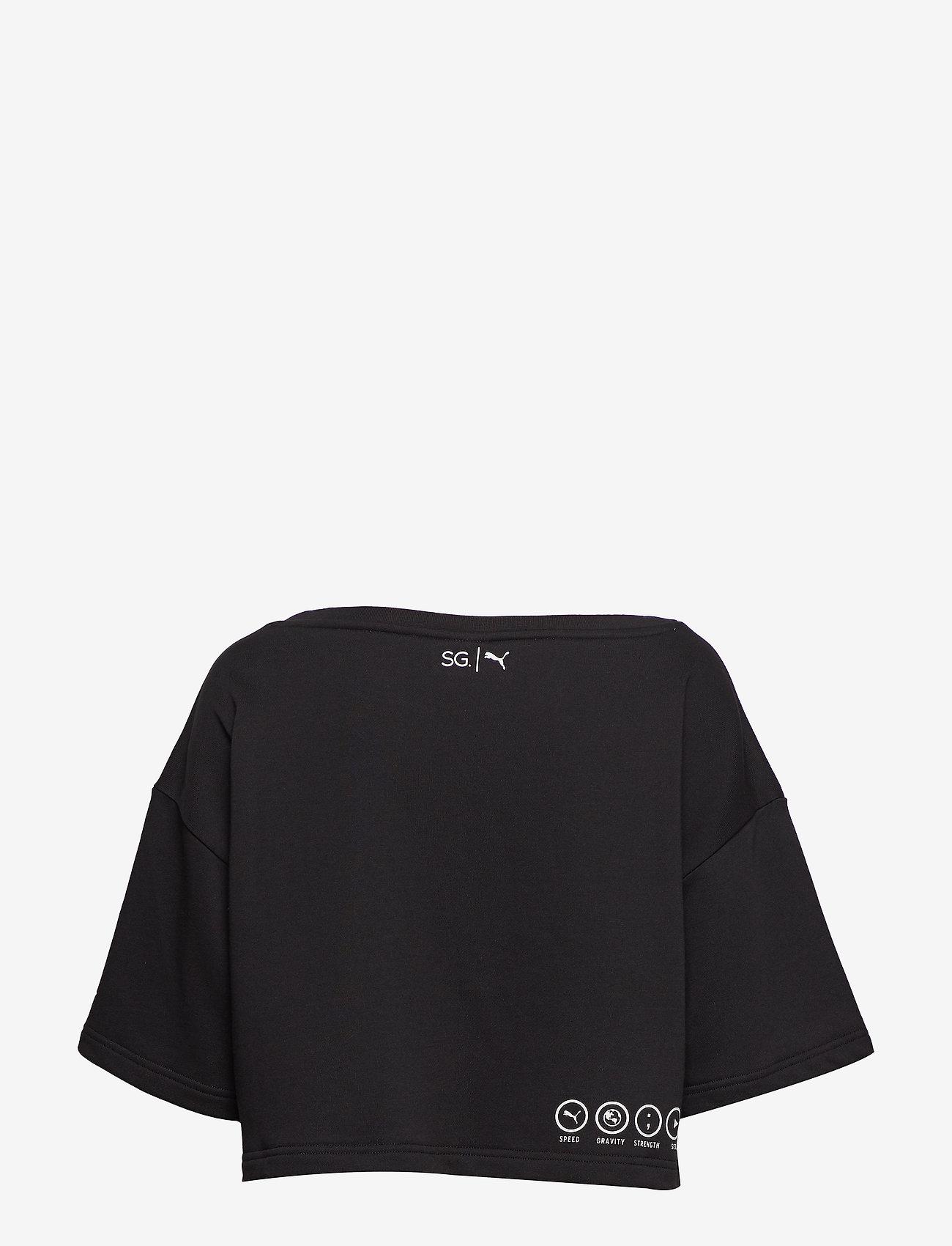 Puma X Sg Sweatshirt (Puma Black) (280 kr) - PUMA