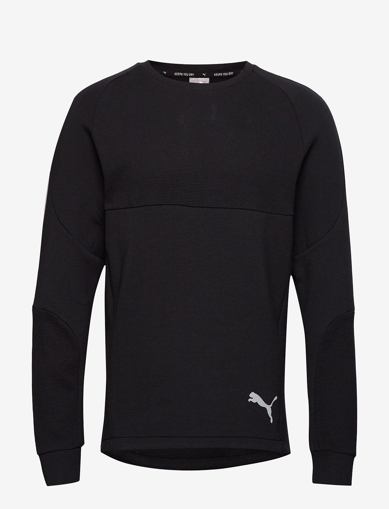 PUMA - Evostripe Crew - bluzki z długim rękawem - puma black - 0