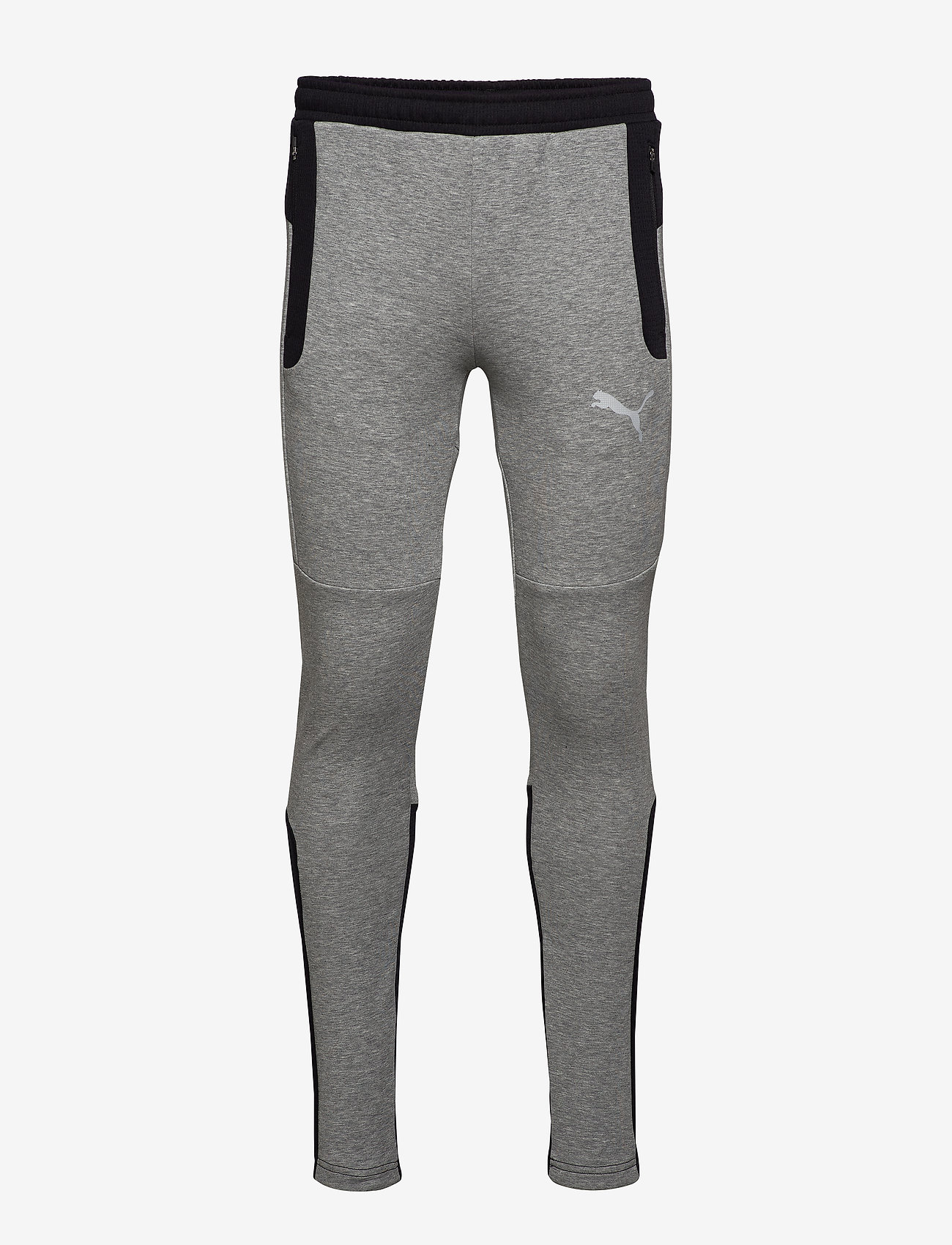 PUMA - EVOSTRIPE Pants - pants - medium gray heather - 0