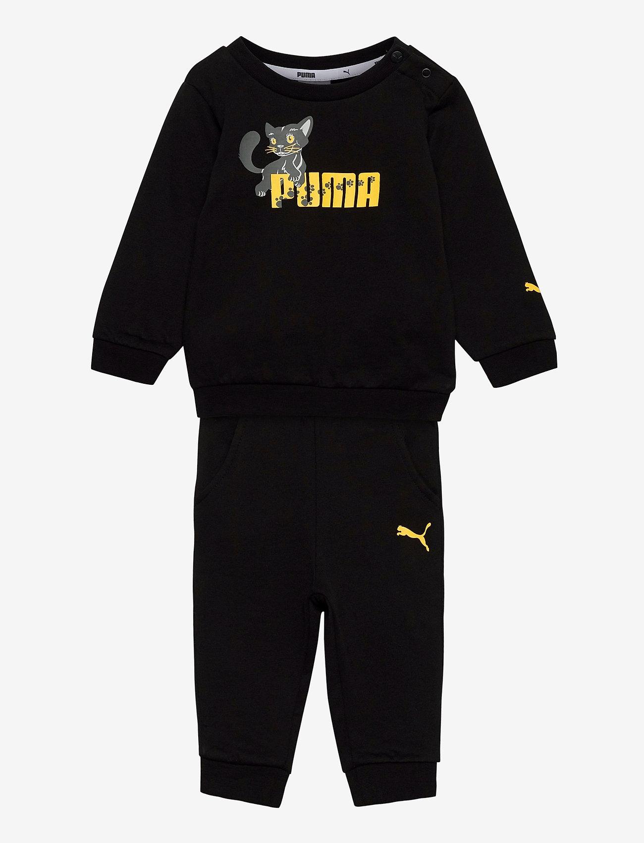 PUMA - Animals Crew Jogger - tracksuits - puma black - 0