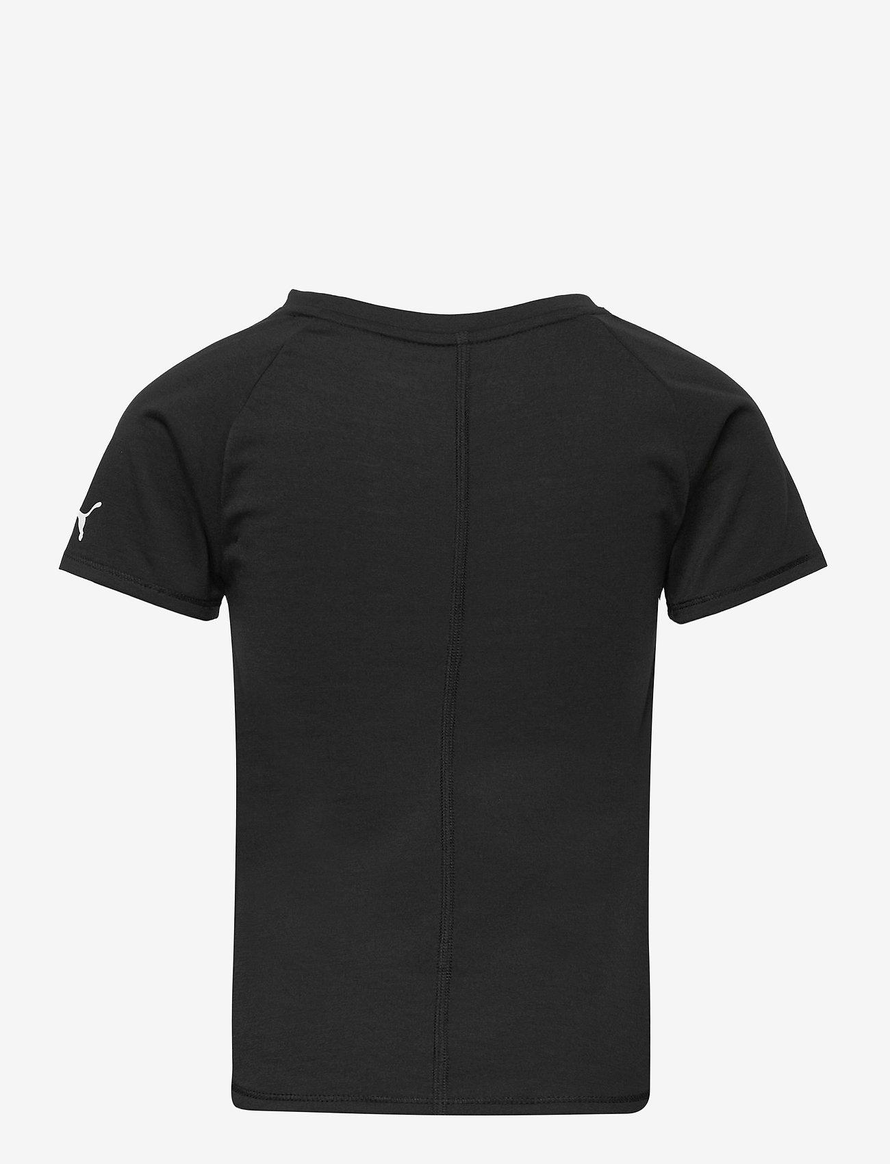 PUMA - Runtrain Tee G - kortärmade t-shirts - puma black - 1