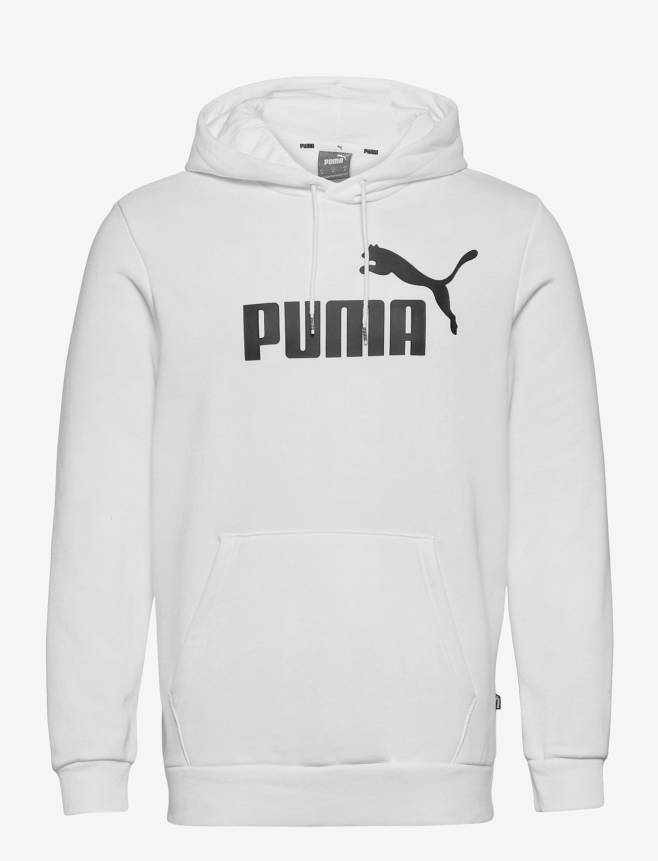 PUMA - ESS Big Logo Hoodie FL - huvtröjor - puma white - 0