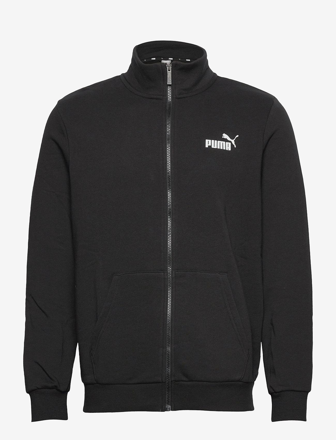 PUMA - ESS Track Jacket TR - nyheter - puma black - 1
