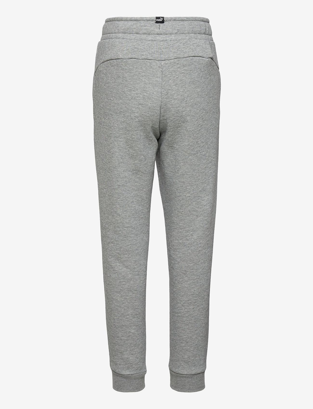 PUMA - ESS Logo Pants FL cl B - sportunderdelar - medium gray heather-cat - 1