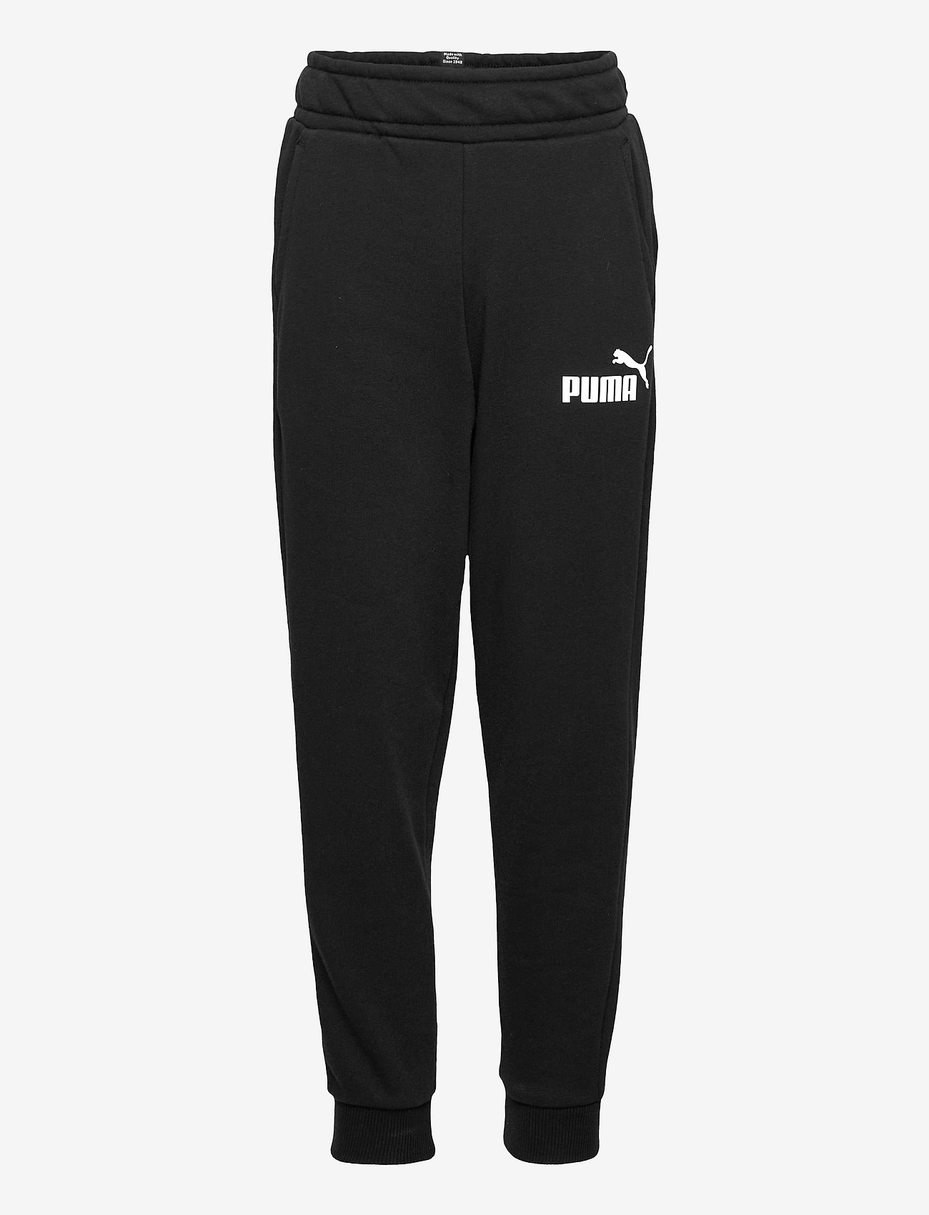 PUMA - ESS Logo Pants TR cl B - sportunderdelar - puma black - 0