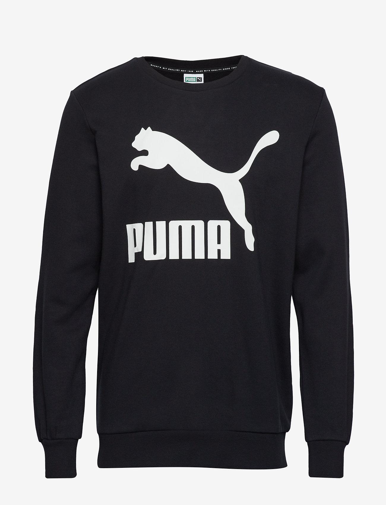 PUMA Classics Logo Crew TR - Sweats PUMA BLACK xvXNyOtX