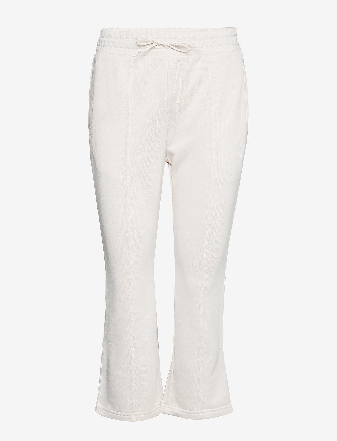 PUMA - Classics Kick Flare Pant - pants - pastel parchment - 0