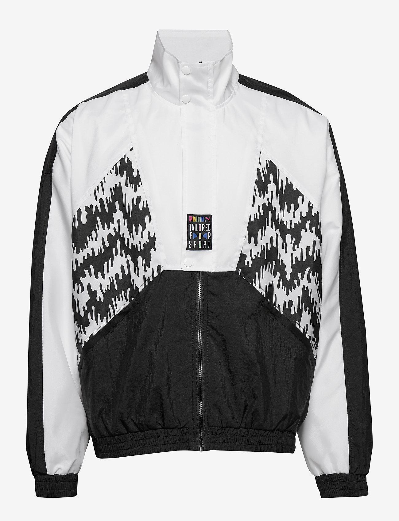 PUMA - TFS OG Track Jacket AOP - track jackets - puma black - 1