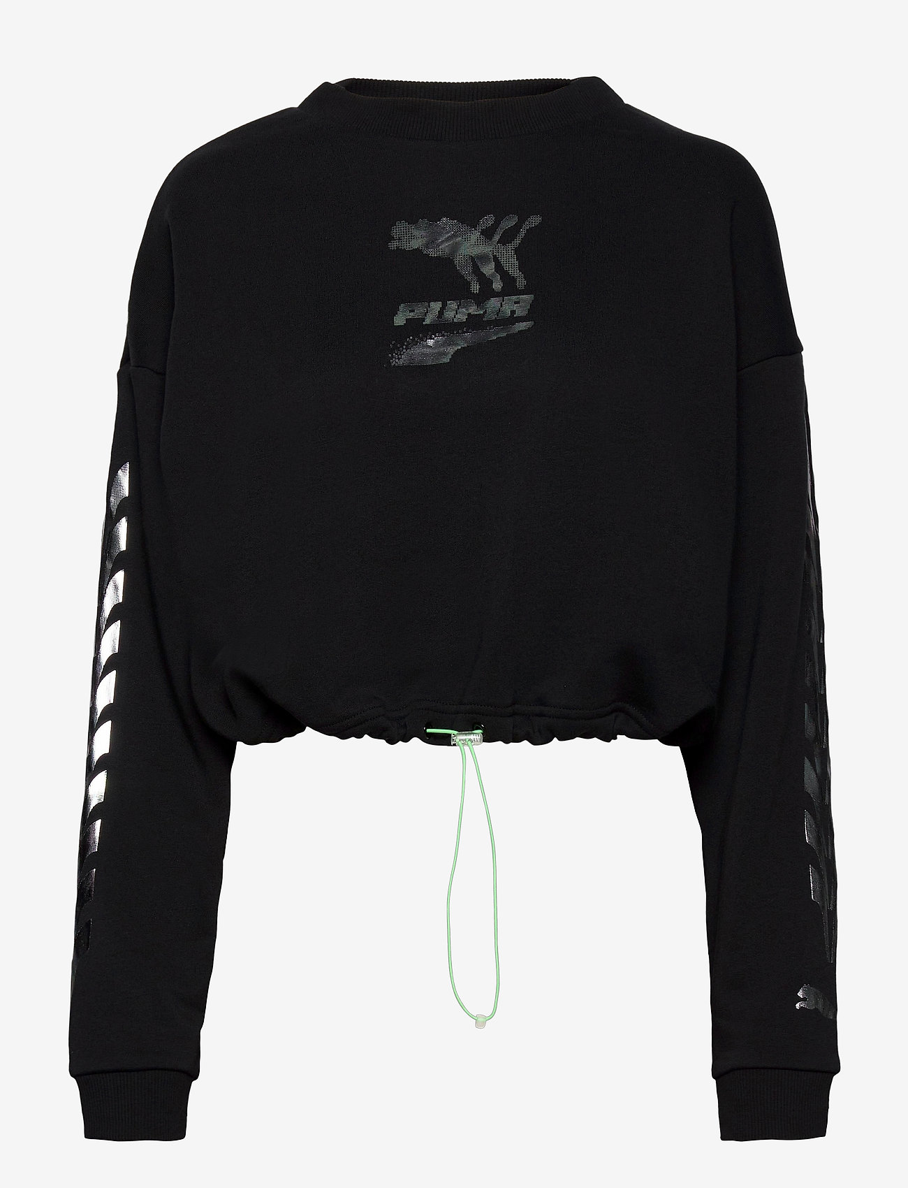 PUMA - Evide Crew - sweatshirts - puma black - 0