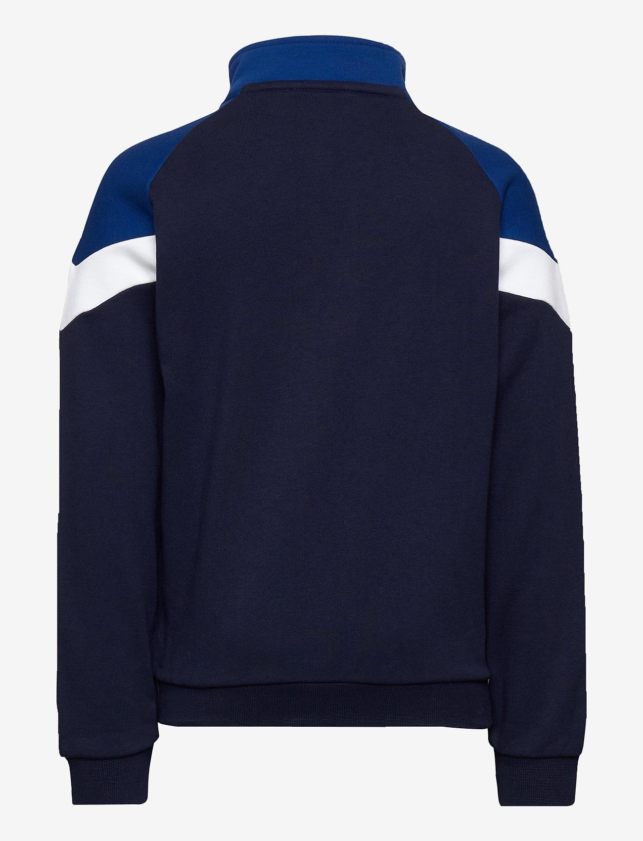 PUMA - Iconic MCS Track Jacket TR B - sweatshirts - peacoat - 1