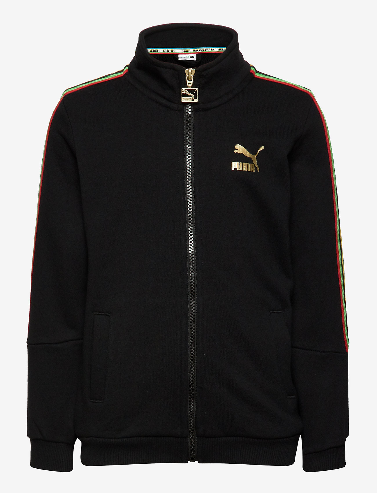 PUMA - TFS Unity Track Top FT B - sweatshirts - puma black - 0