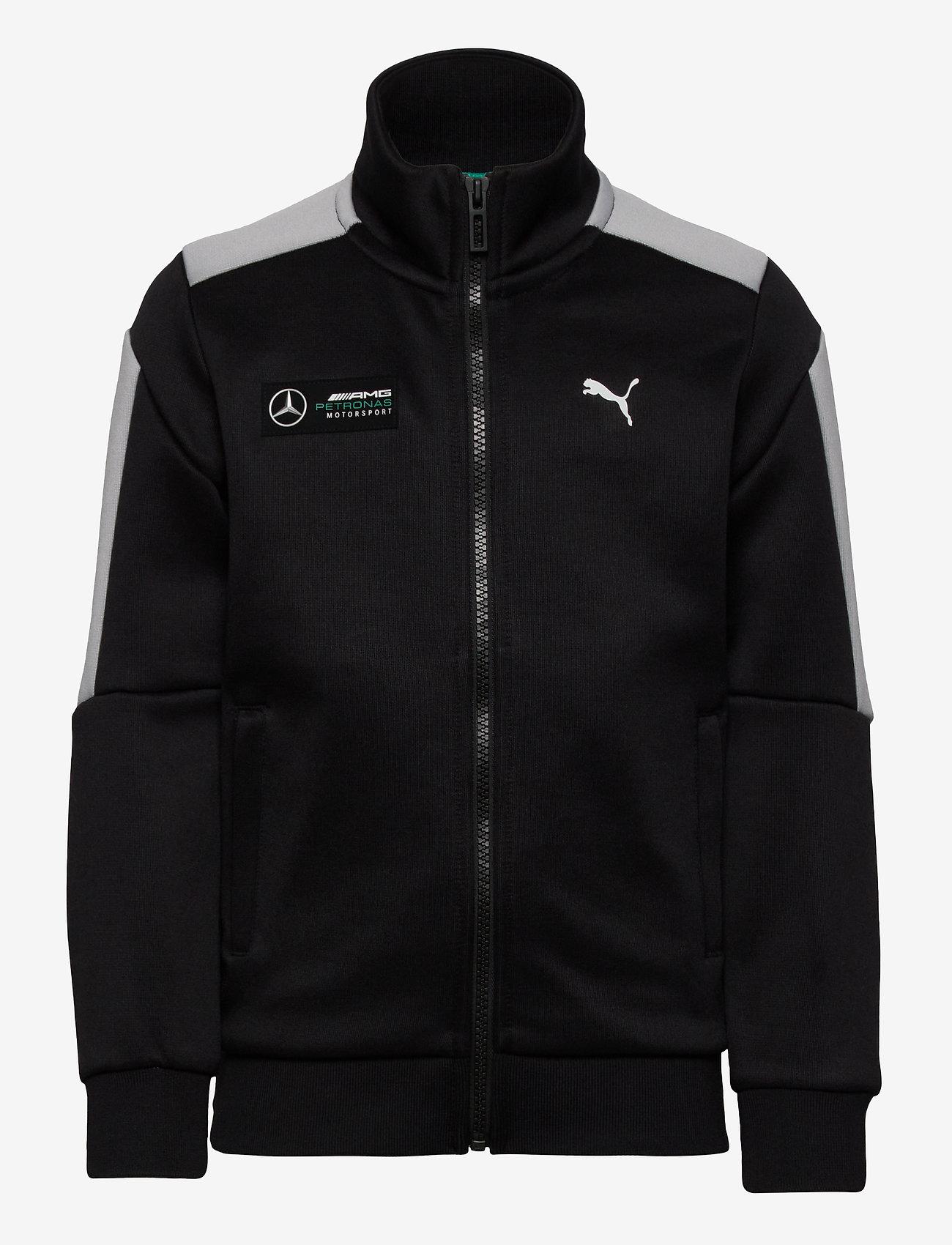 PUMA - MAPM T7 Track Jacket Kids - sweatshirts - puma black - 0