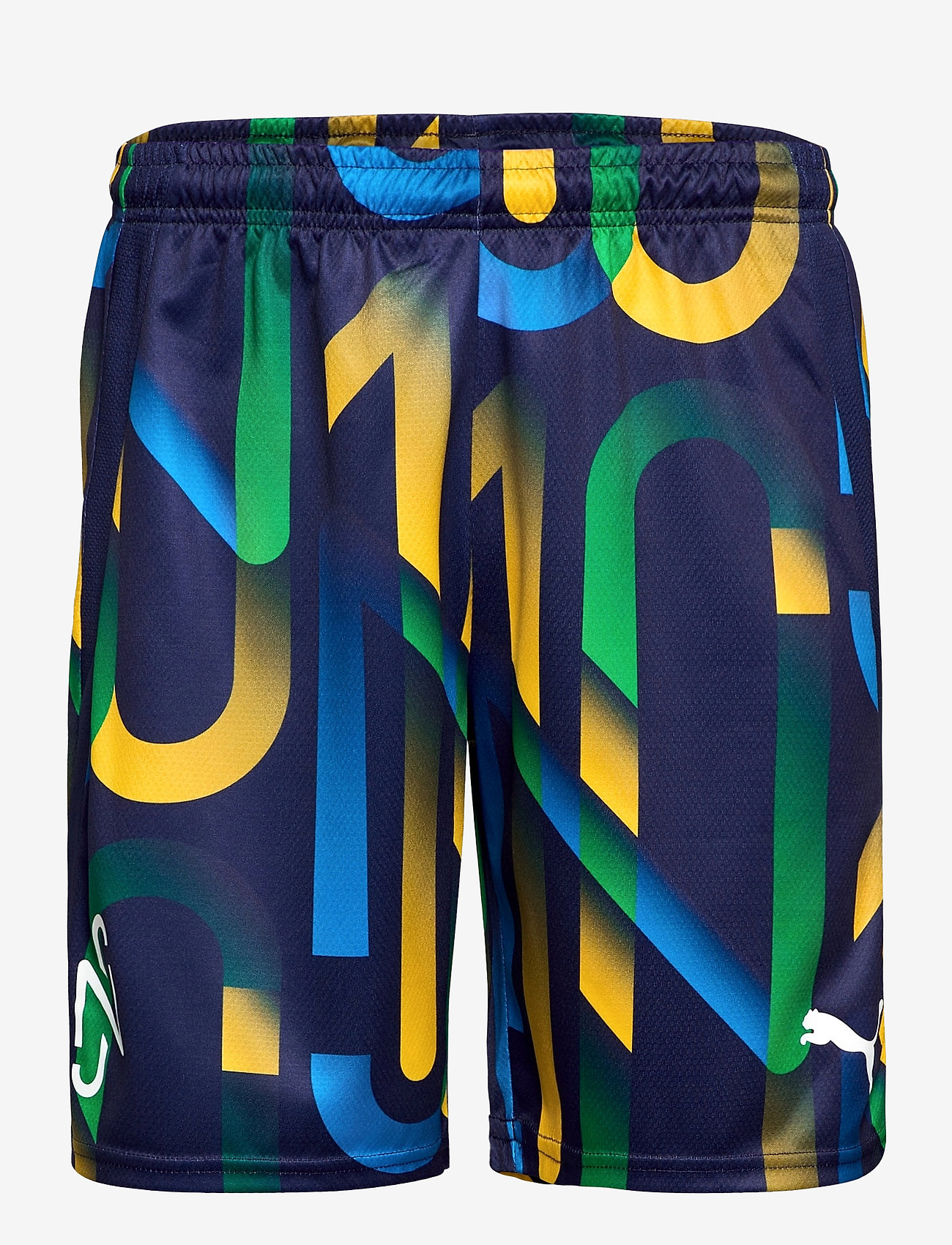 PUMA - Neymar Jr Hero Shorts - spodenki treningowe - peacoat-dandelion - 0