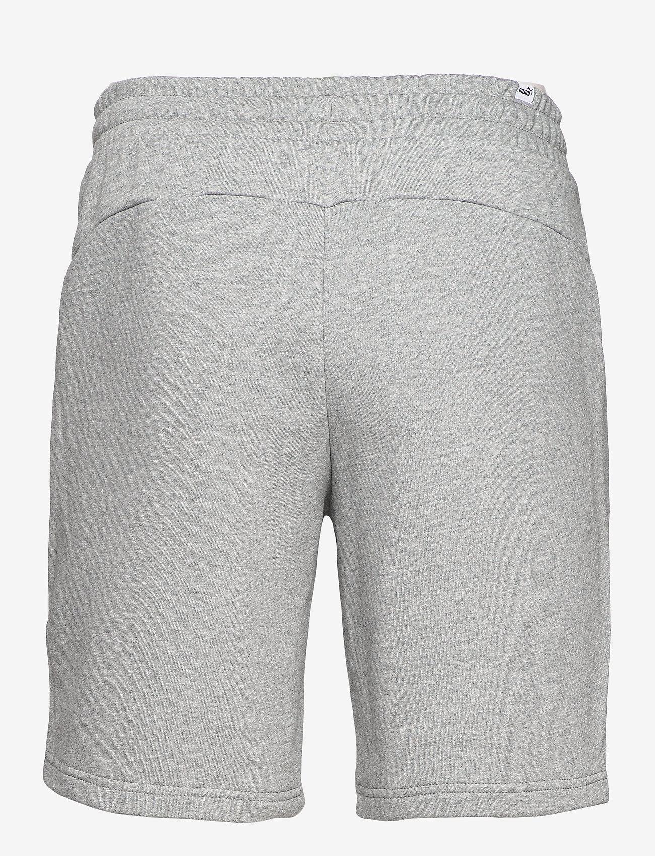 PUMA - NEYMAR JR CREATIVITY Logo Shorts - krótkie spodenki - medium grey heather - 1