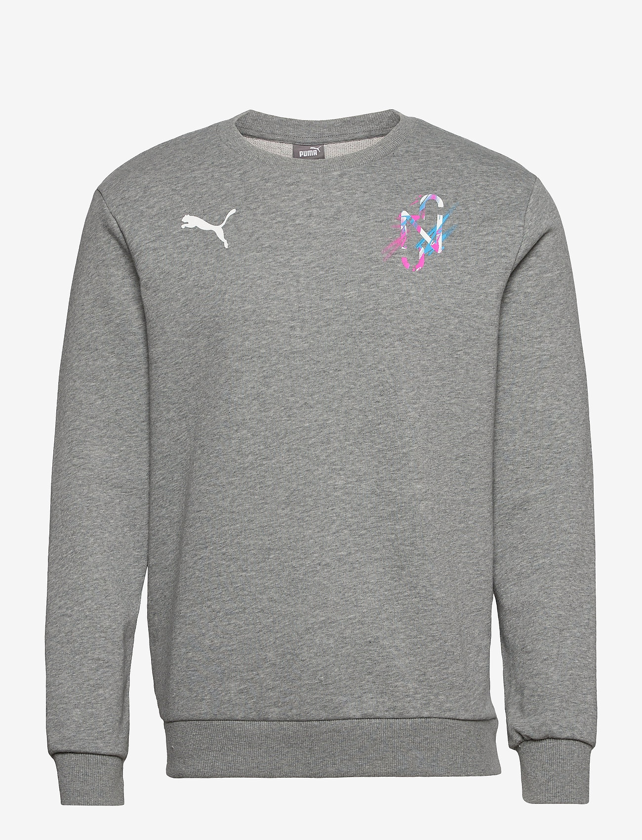 PUMA - NEYMAR JR CREATIVITY Crew Sweat - basic sweatshirts - medium grey heather - 0