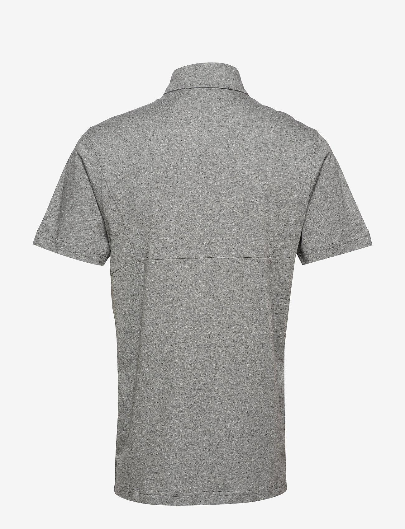 PUMA - LIGA Casuals Polo - football shirts - medium gray heather-puma black - 1