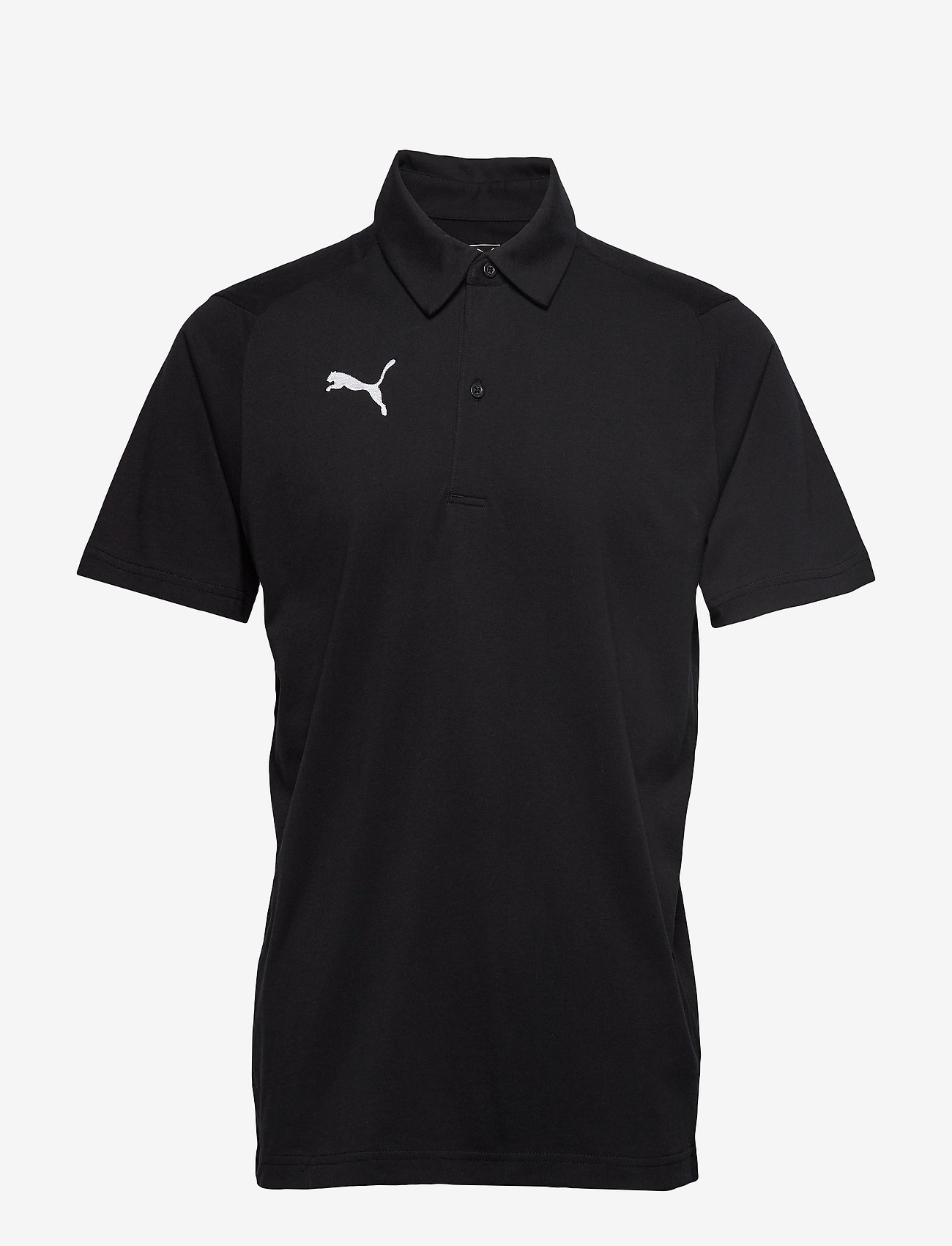 PUMA - LIGA Casuals Polo - football shirts - puma black-puma white - 0