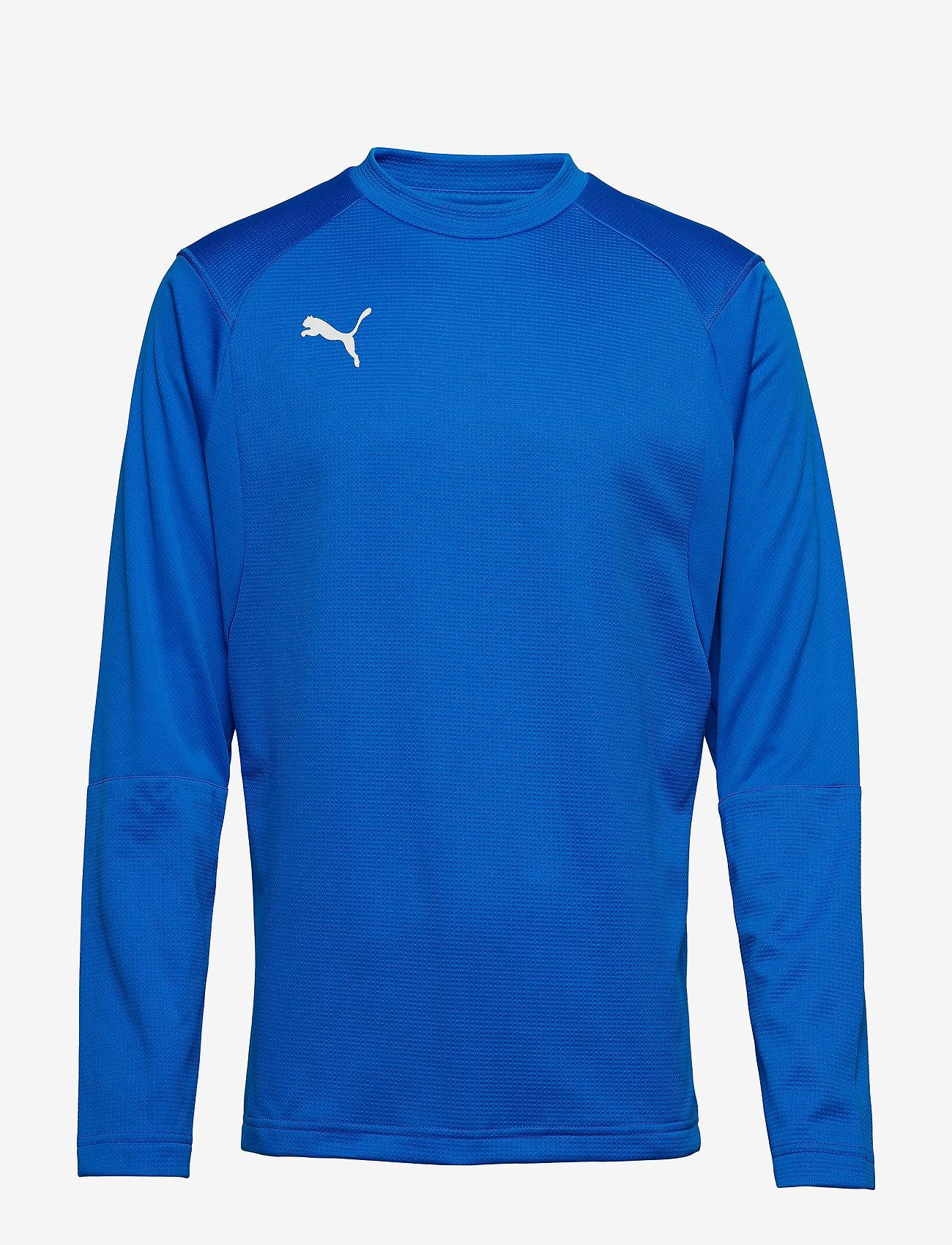 PUMA - LIGA Training Sweat - football shirts - electric blue lemonade-puma white - 0