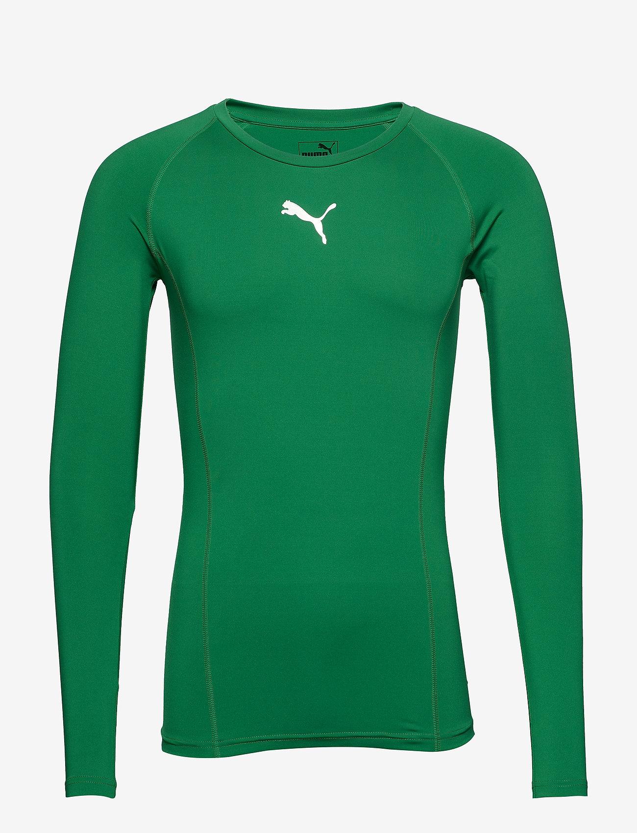 PUMA - LIGA Baselayer Tee LS - football shirts - pepper green - 0