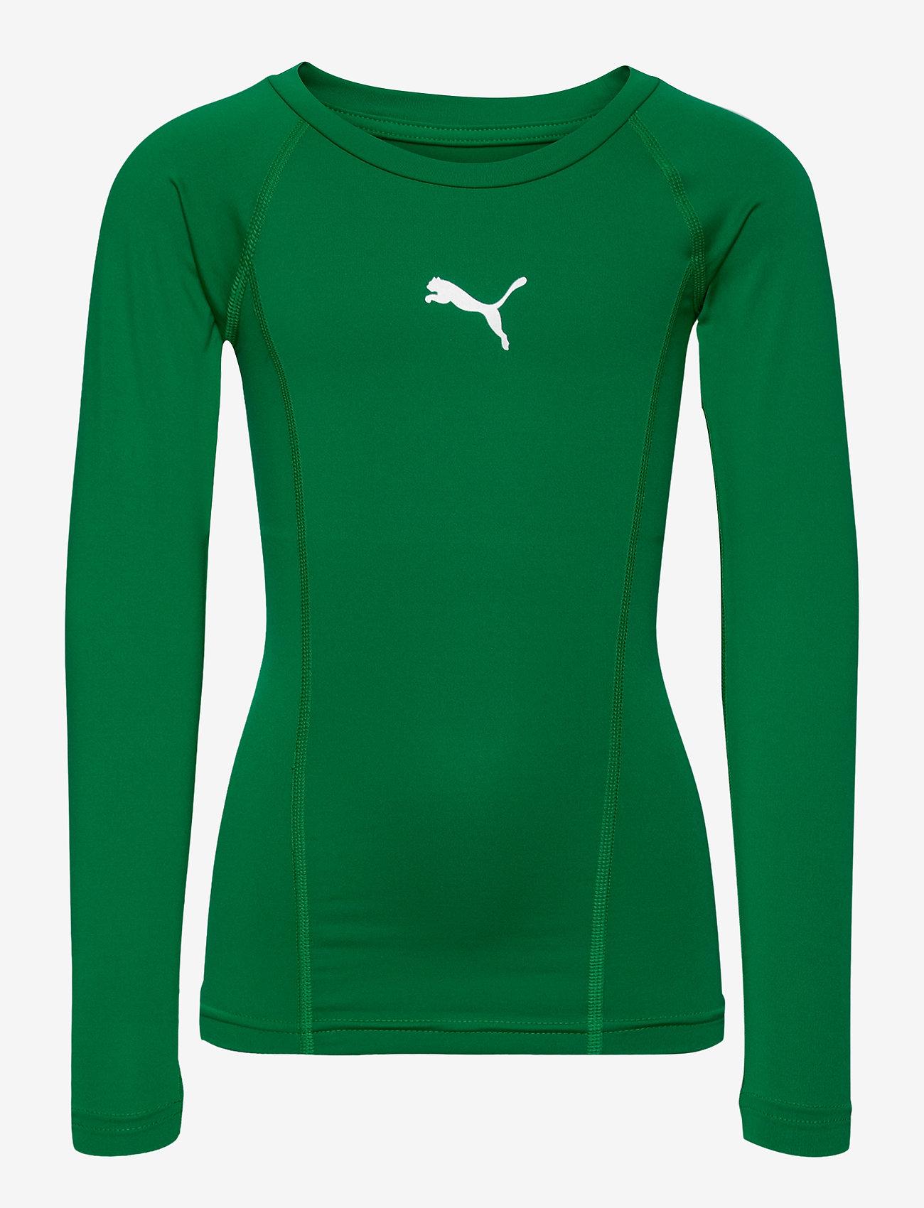 PUMA - LIGA Baselayer Tee LS Jr - long-sleeved t-shirts - pepper green - 0