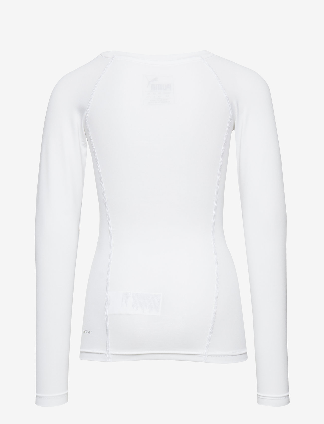 PUMA - LIGA Baselayer Tee LS Jr - long-sleeved t-shirts - puma white - 1