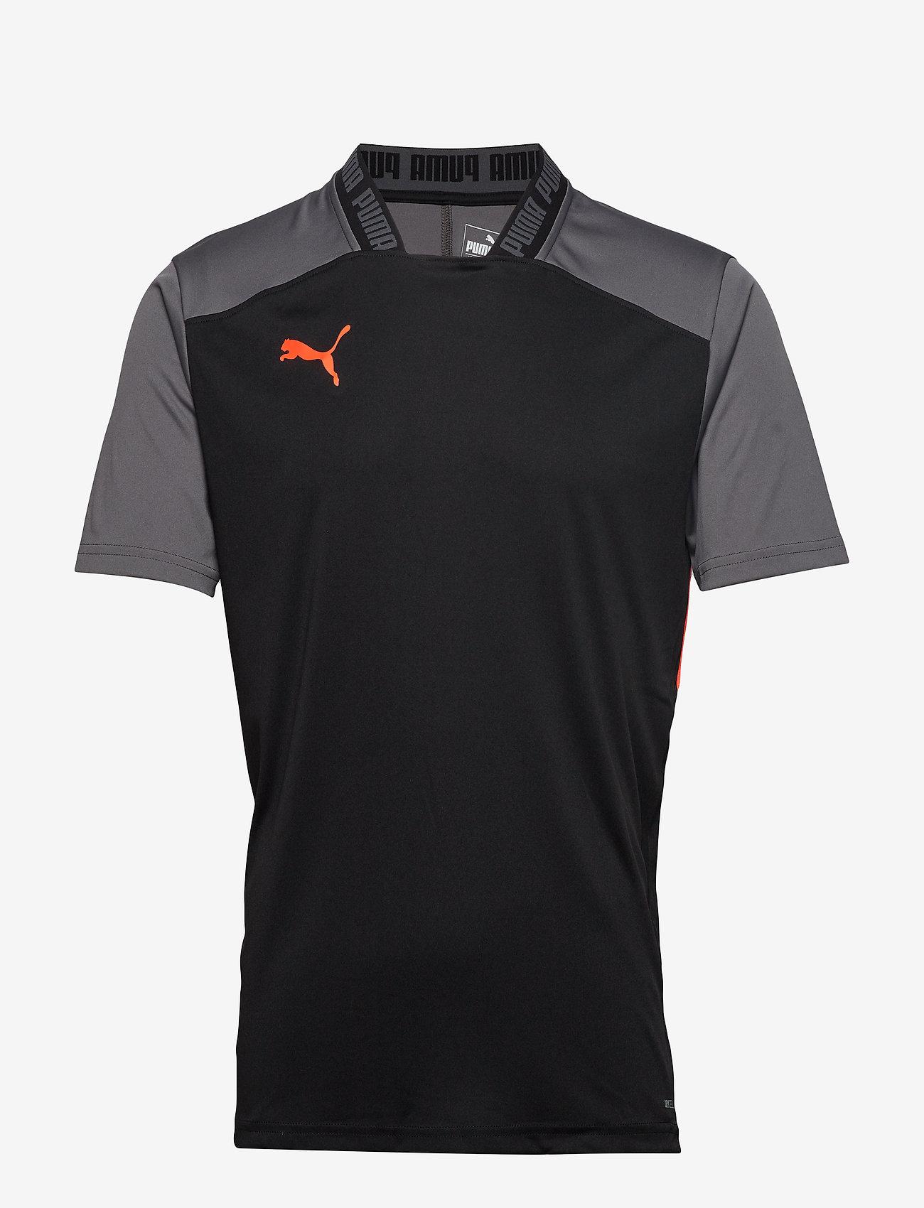 PUMA - ftblNXT Pro Tee - football shirts - puma black-nrgy red - 0