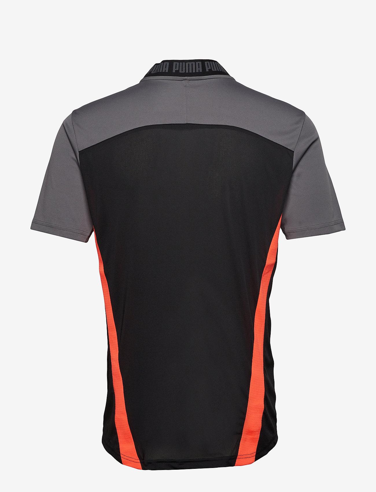 PUMA - ftblNXT Pro Tee - football shirts - puma black-nrgy red - 1