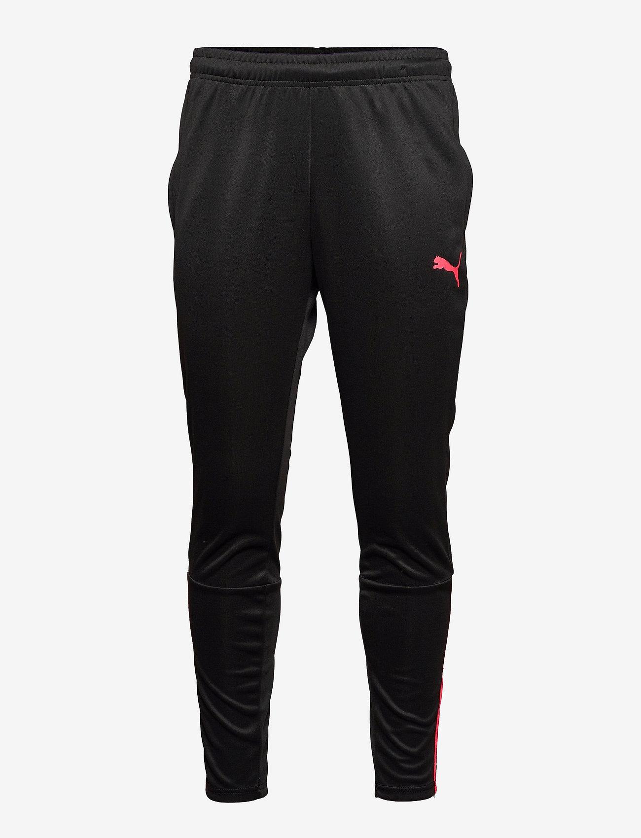PUMA - teamLIGA Training Pants - sportbyxor - puma black-sunblaze - 0