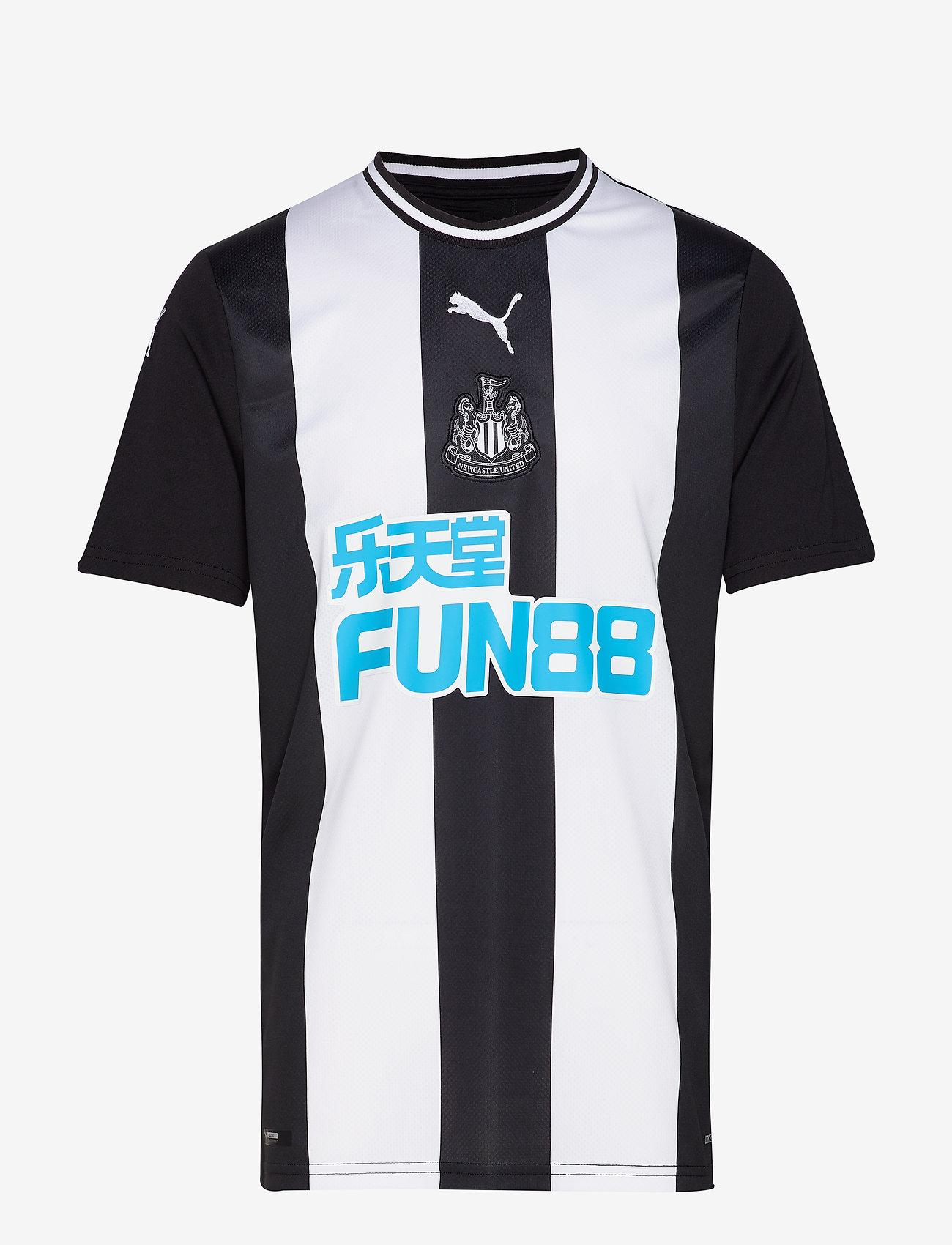 PUMA - NUFC HOME Shirt Replica SS  WITH sponsor - football shirts - puma white-puma black - 0