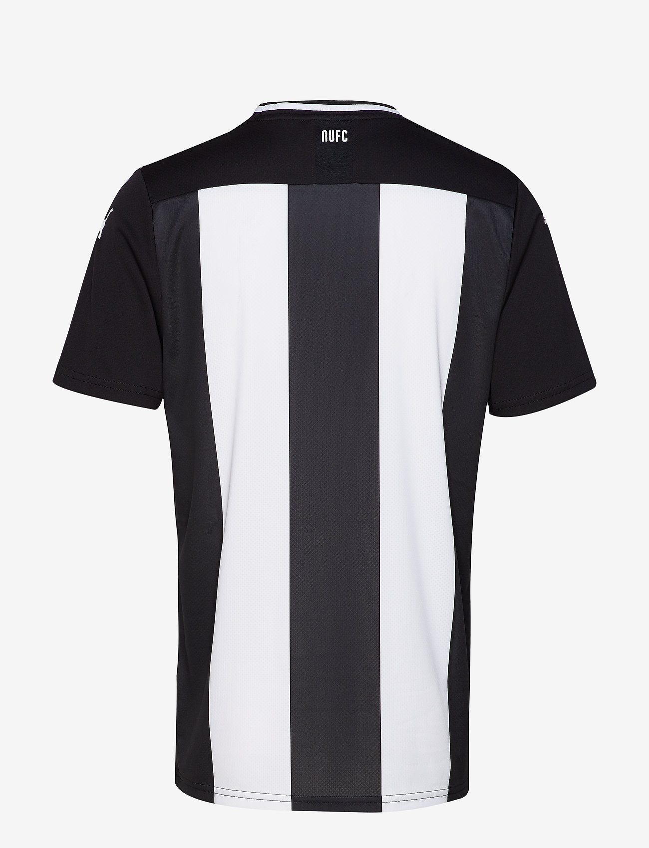 Puma Nufc Home Shirt Replica Ss With Sponsor - T-shirts White-puma Black