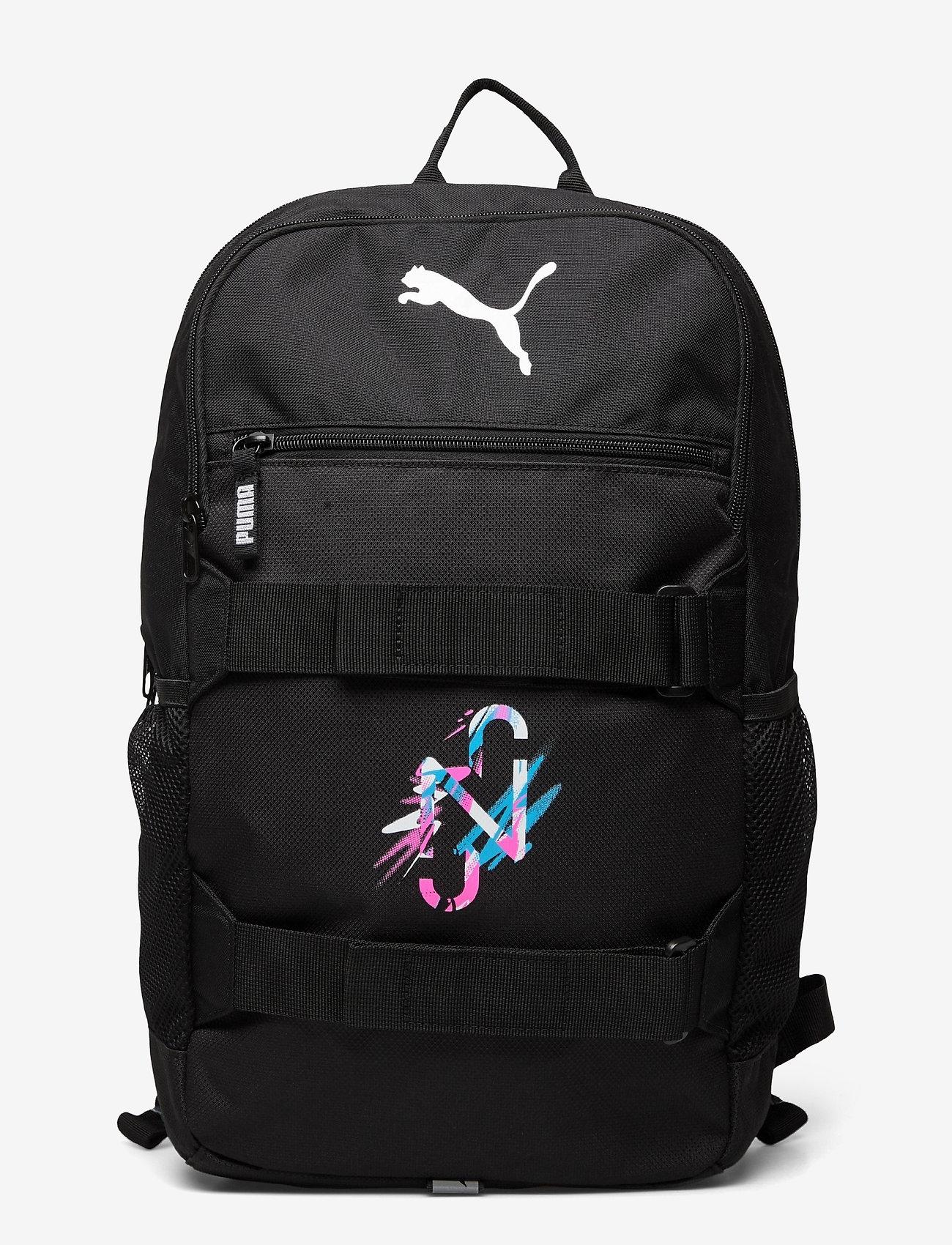 PUMA - NEYMAR JR Deck Backpack - sportsbagger - peacoat-puma white-puma red - 0
