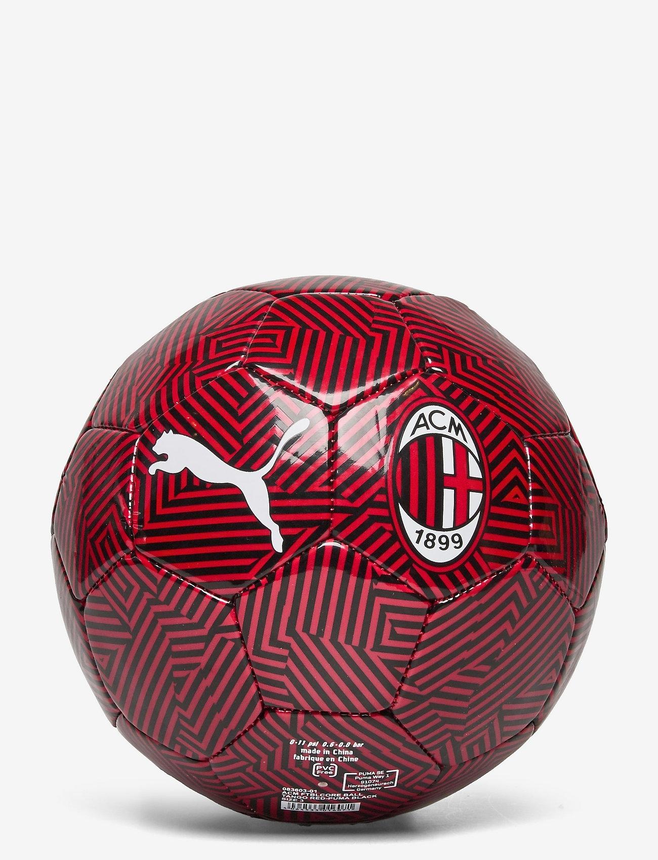 PUMA - ACM ftblCore ball - fotballutstyr - tango red -puma black - 0