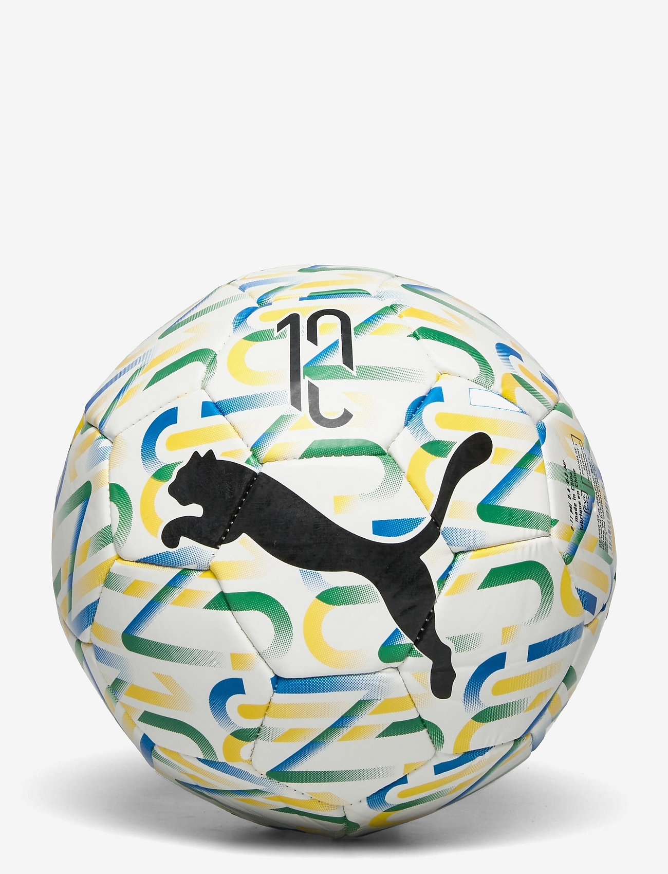 PUMA - Neymar Jr Graphic ball - Équipement de sport - puma white-dandelion-amazon green-puma black - 0