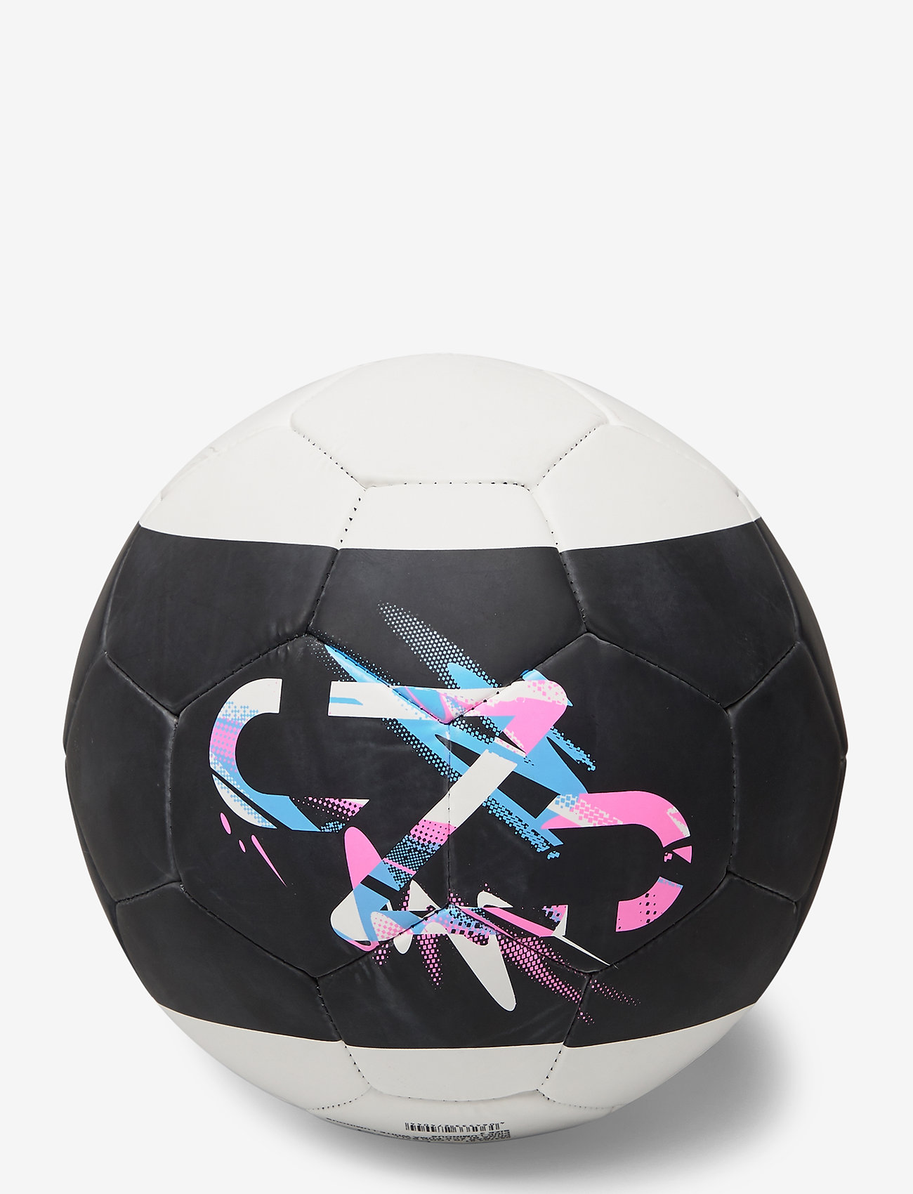 PUMA - Neymar Jr Logo ball - fotballutstyr - peacoat-puma white-puma red - 1
