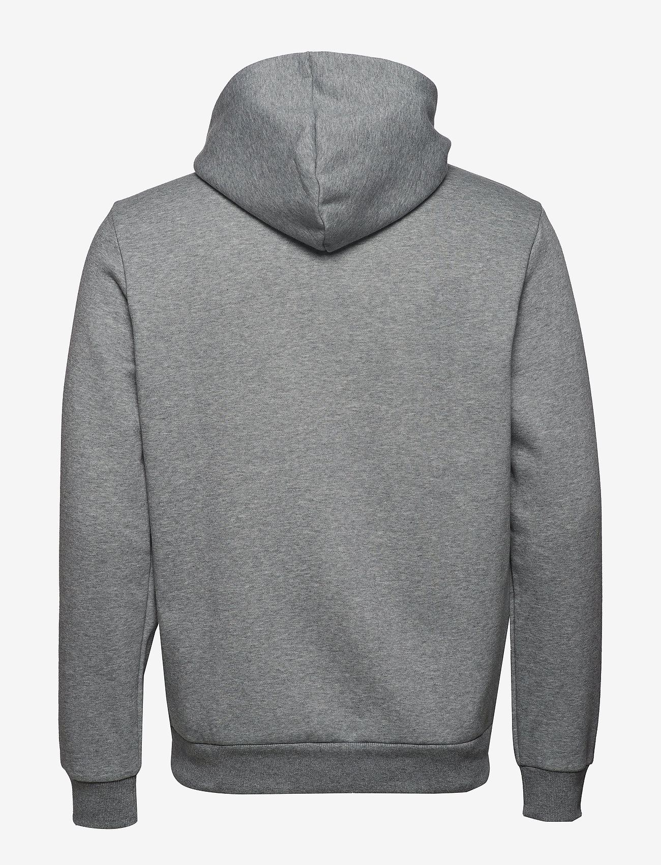 PUMA - ESS Hoody FL Big Logo - hoodies - medium gray heather - 1