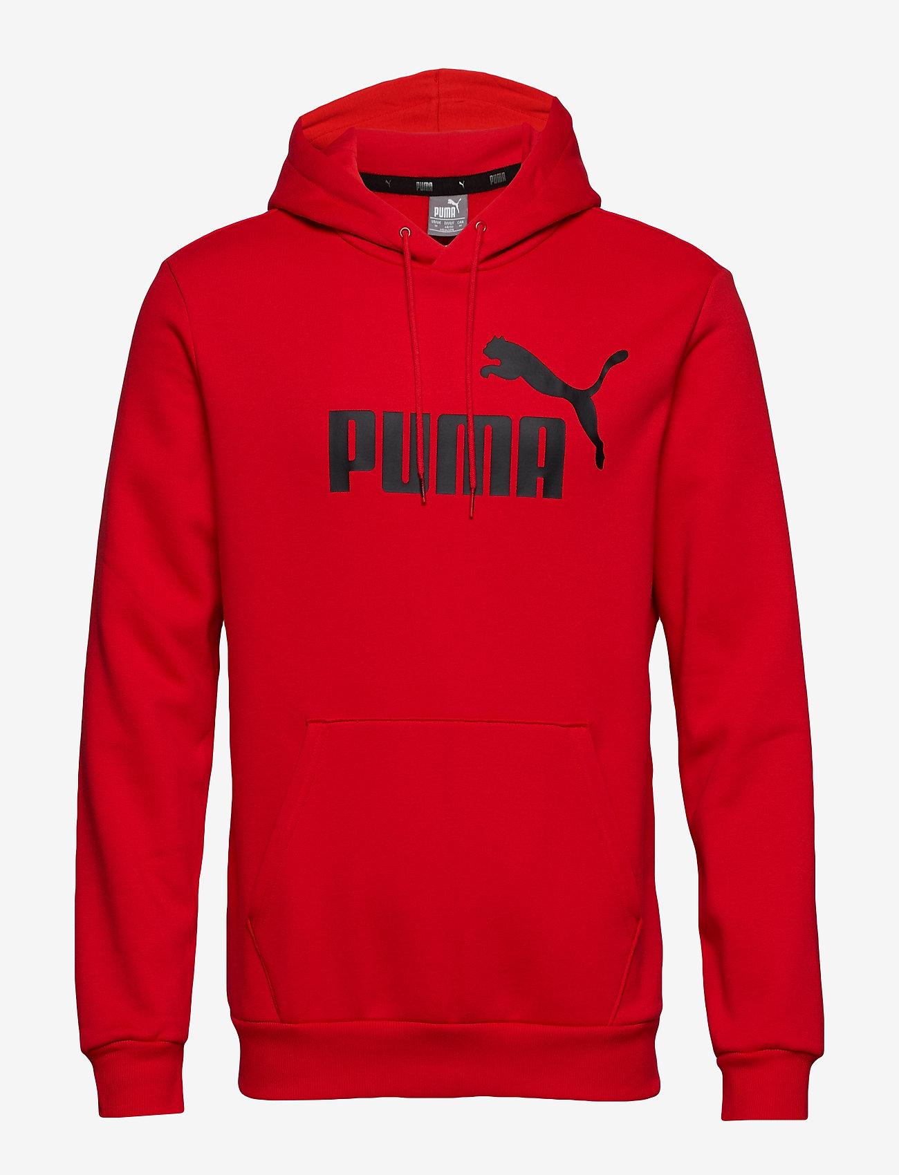 PUMA - ESS Hoody FL Big Logo - hoodies - puma red - 0