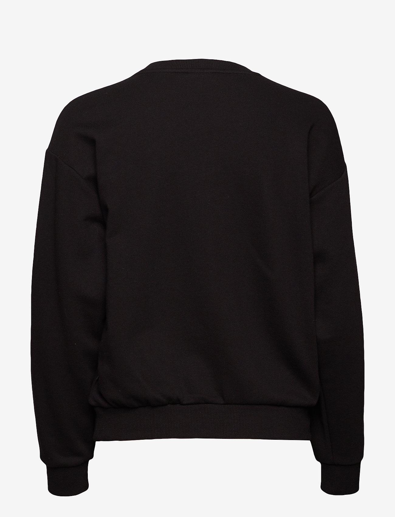PUMA - ESS Logo Crew Sweat TR - svetarit - cotton black - 1