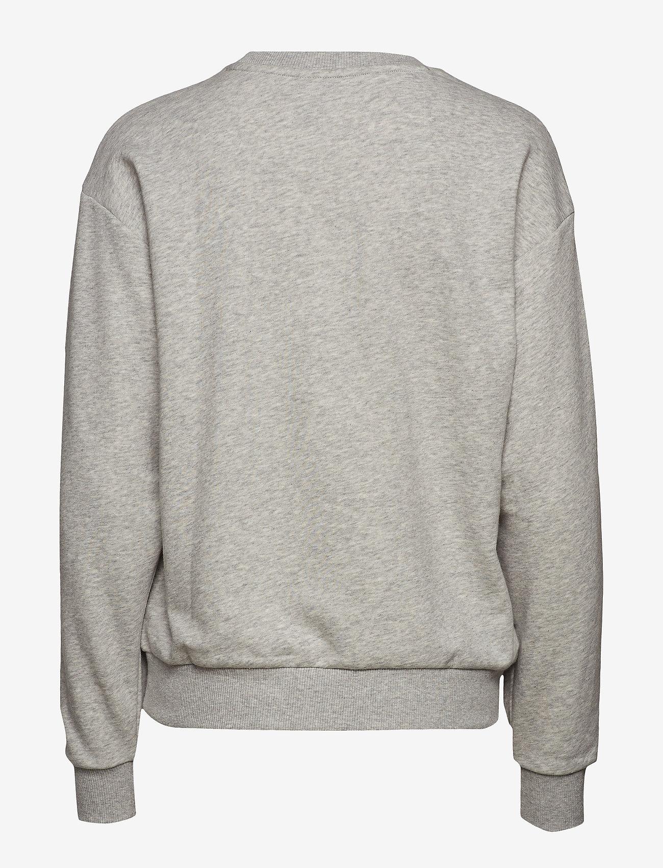 PUMA - ESS Logo Crew Sweat TR - sweatshirts - light gray heather - 1