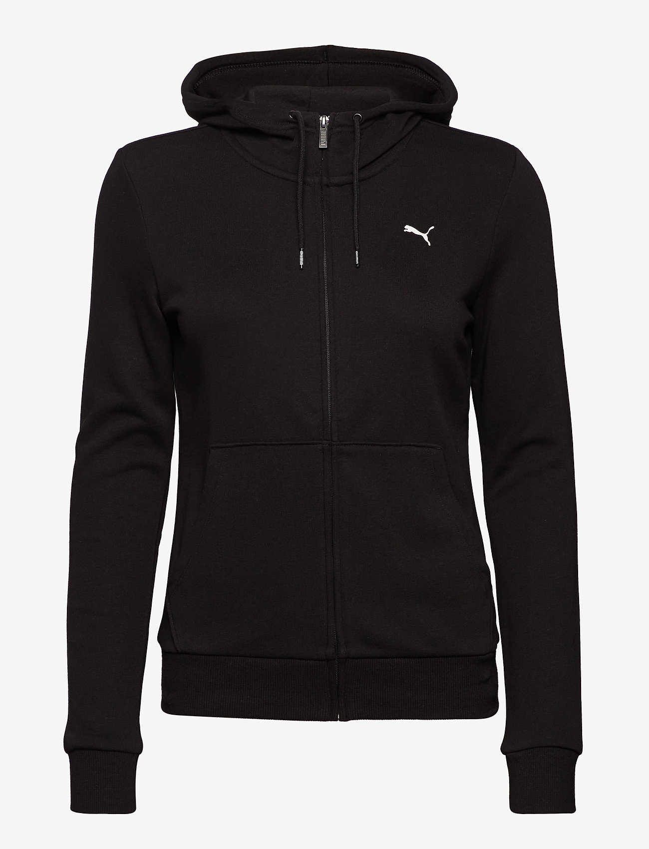 PUMA - ESS Hooded Jacket TR - hupparit - cotton black-cat - 0