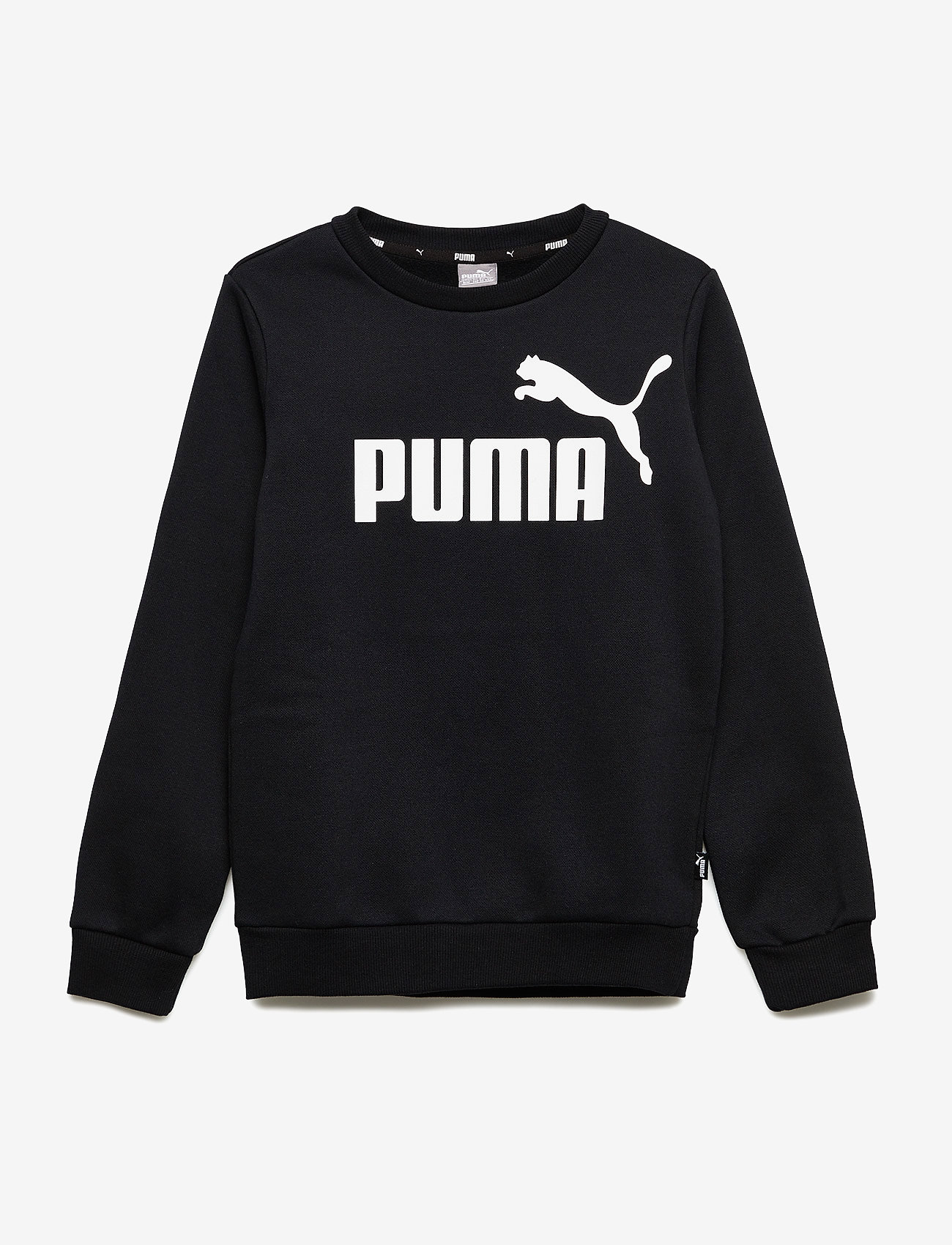 PUMA - ESS Logo Crew Sweat FL B - sweatshirts - cotton black - 0