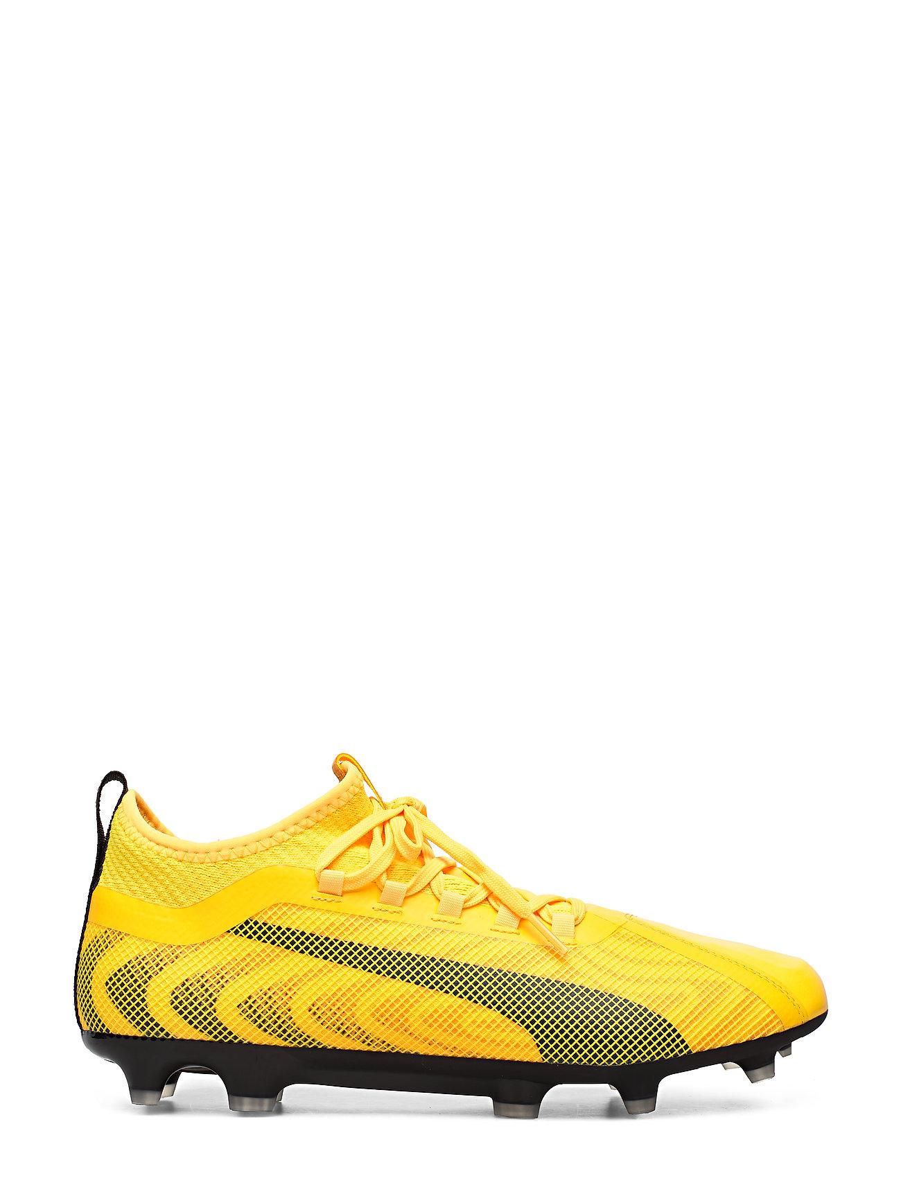 Puma 20.2 Fg/Ag Shoes Sport Shoes Football Boots Gul PUMA